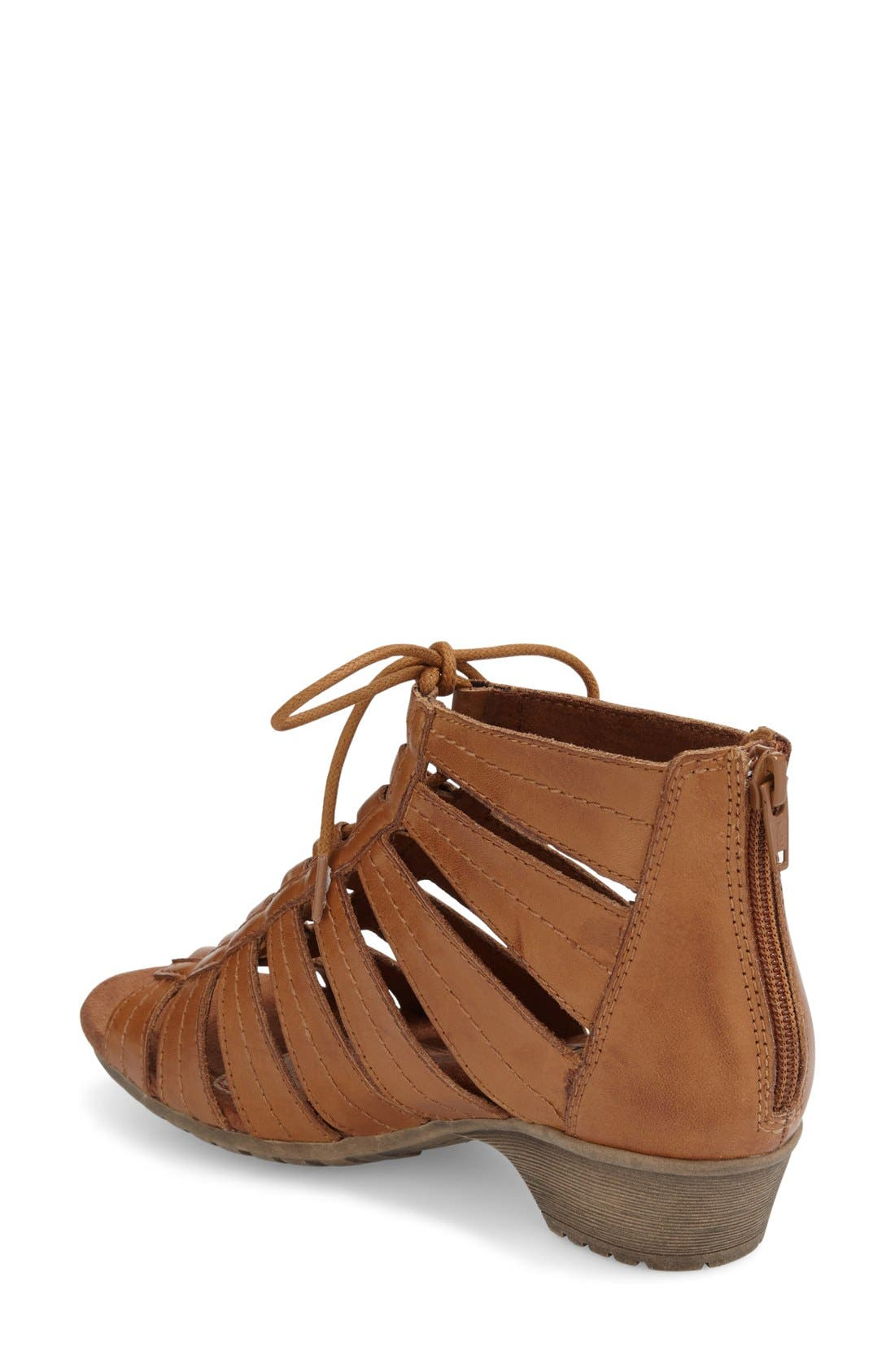 'Gabby' Lace-Up Sandal,                             Alternate thumbnail 45, color,