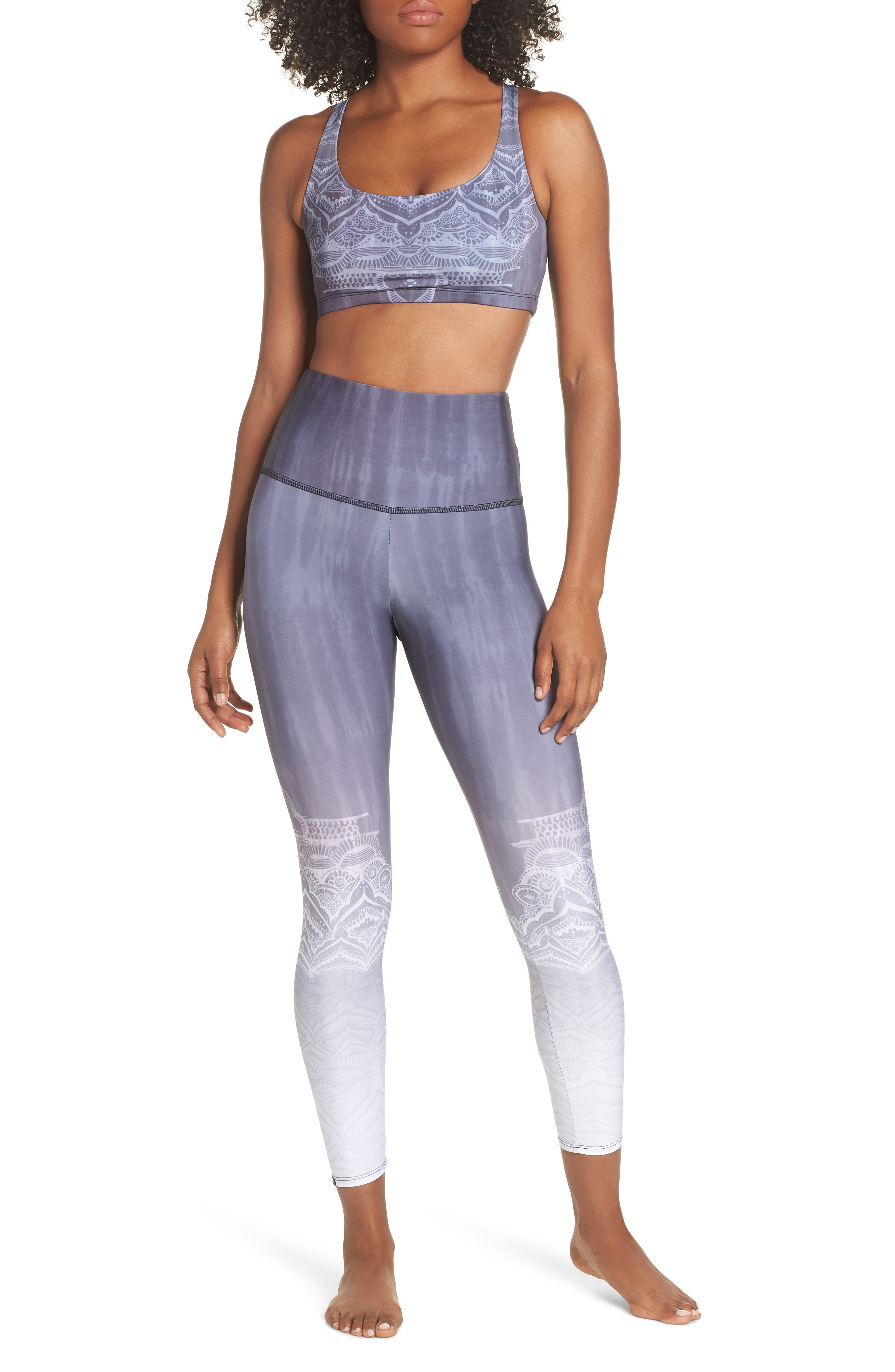 High Waist Leggings,                             Alternate thumbnail 8, color,                             SACRED