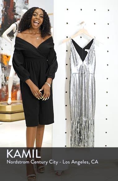 Frankie Plunge Midi Dress, sales video thumbnail