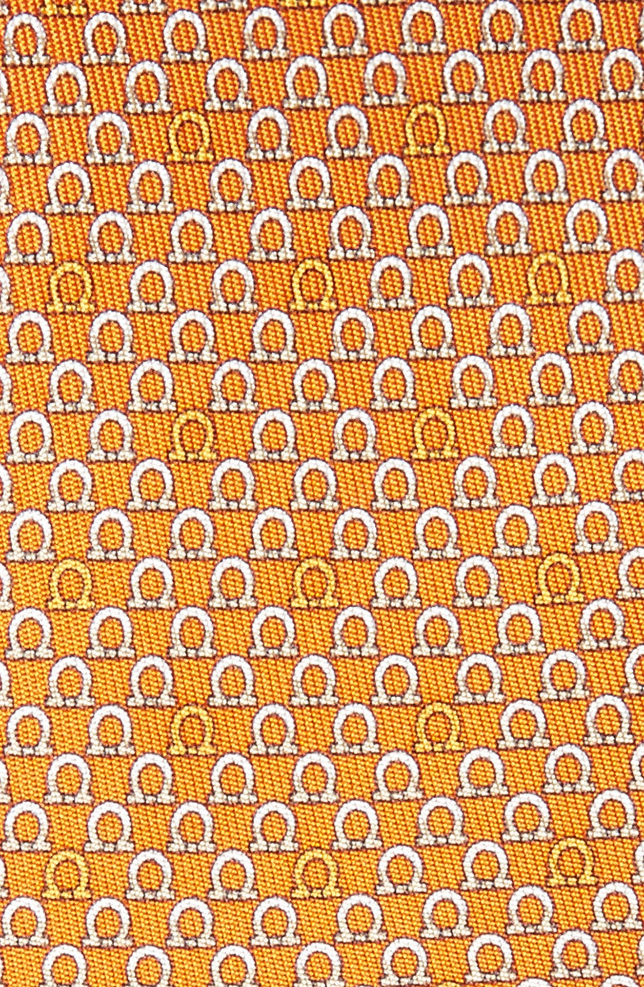 Geometric Print Silk Tie,                             Alternate thumbnail 8, color,