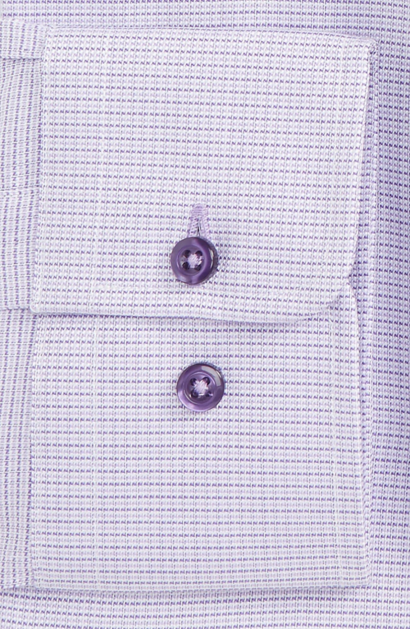 Regular Fit Solid Dress Shirt,                             Alternate thumbnail 2, color,