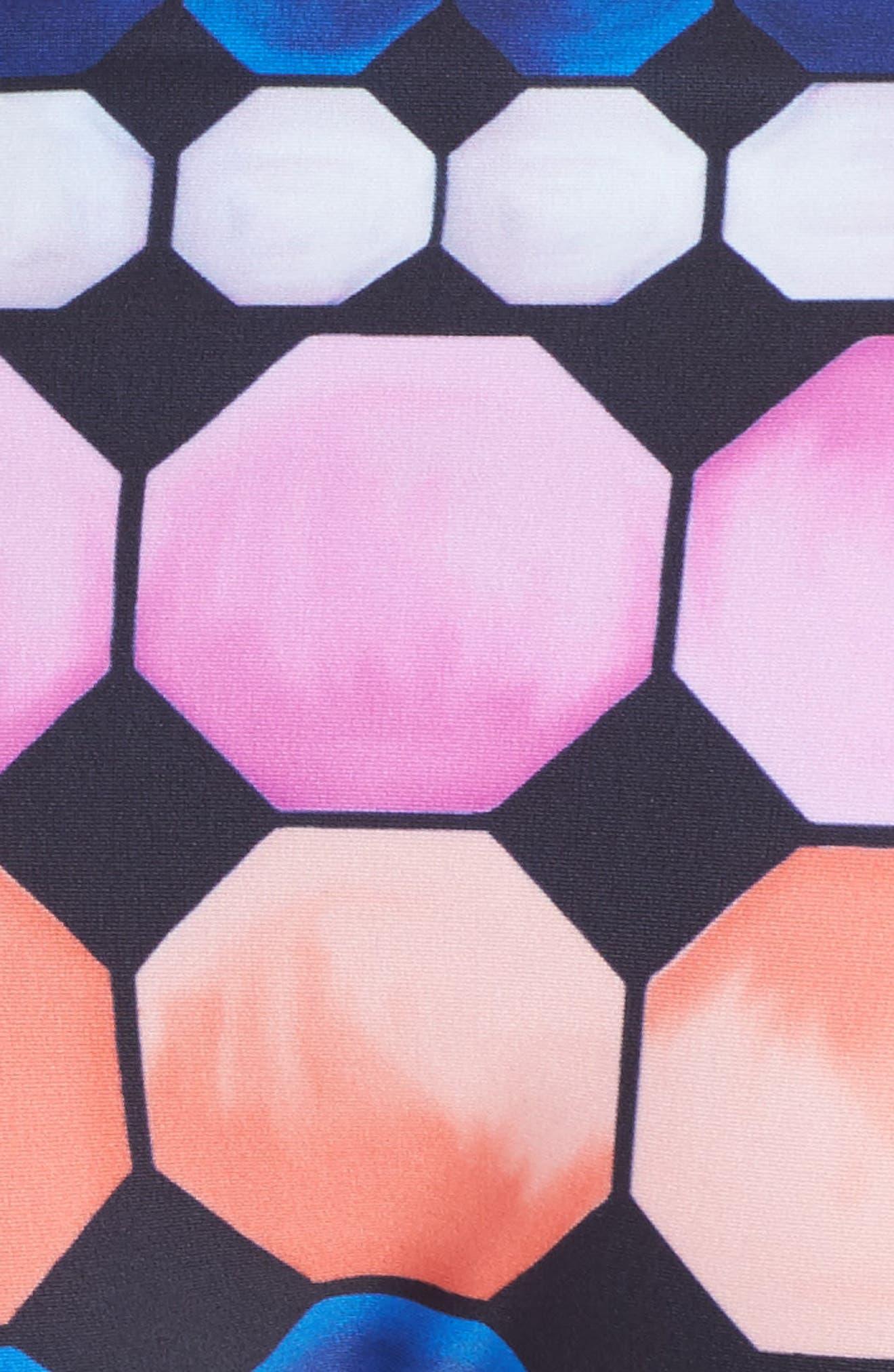 Marina Mosaic Bikini Bottoms,                             Alternate thumbnail 5, color,                             410
