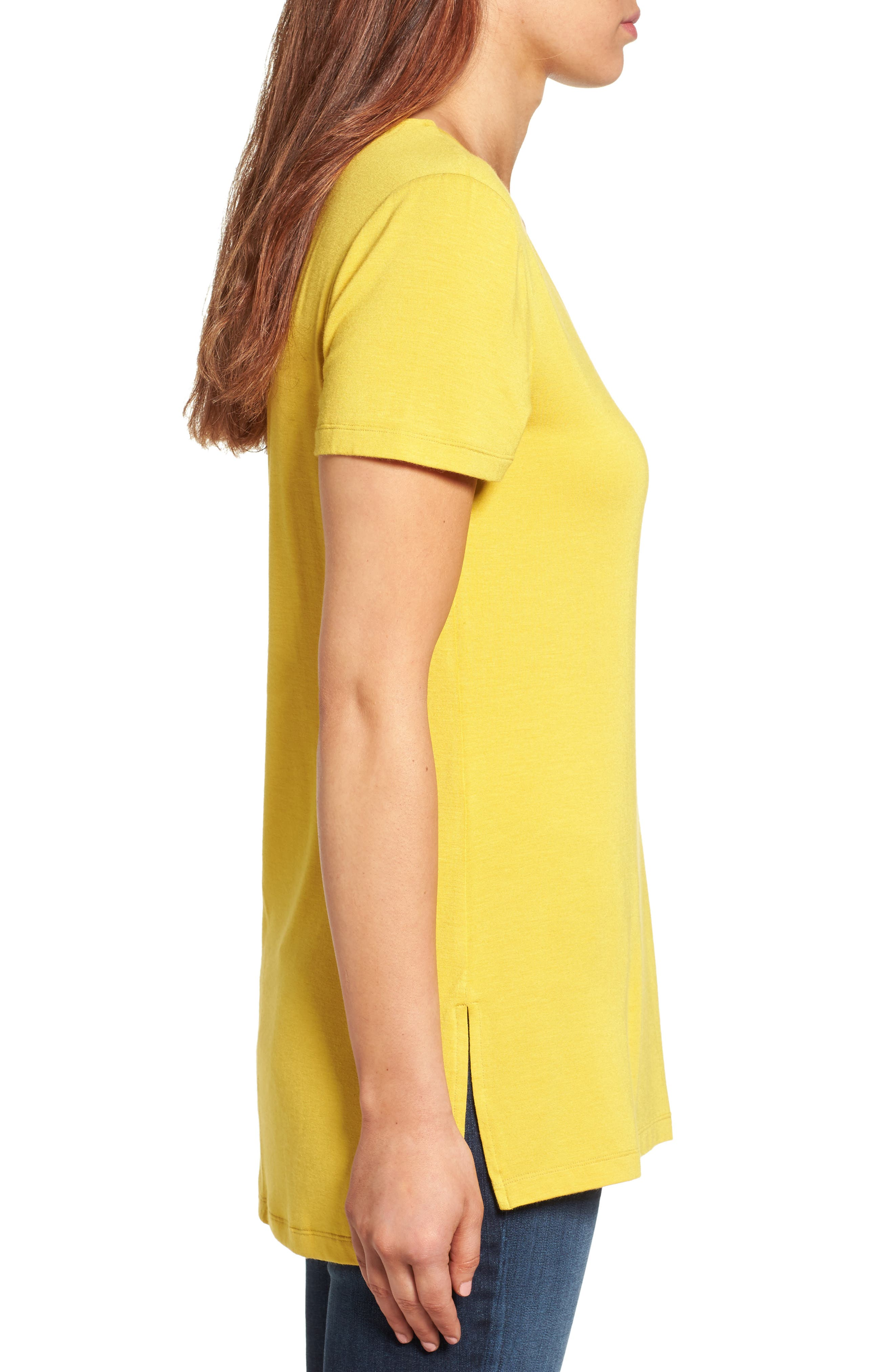 V-Neck Tunic Tee,                             Alternate thumbnail 35, color,