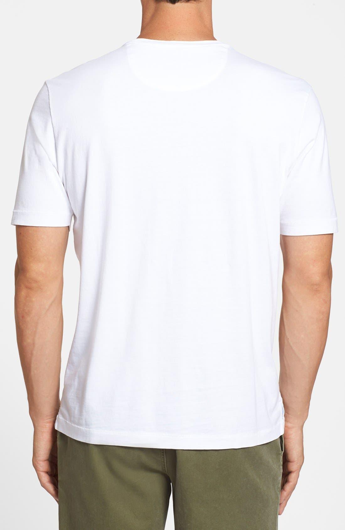 New Bali Sky Pima Cotton Pocket T-Shirt,                             Alternate thumbnail 67, color,