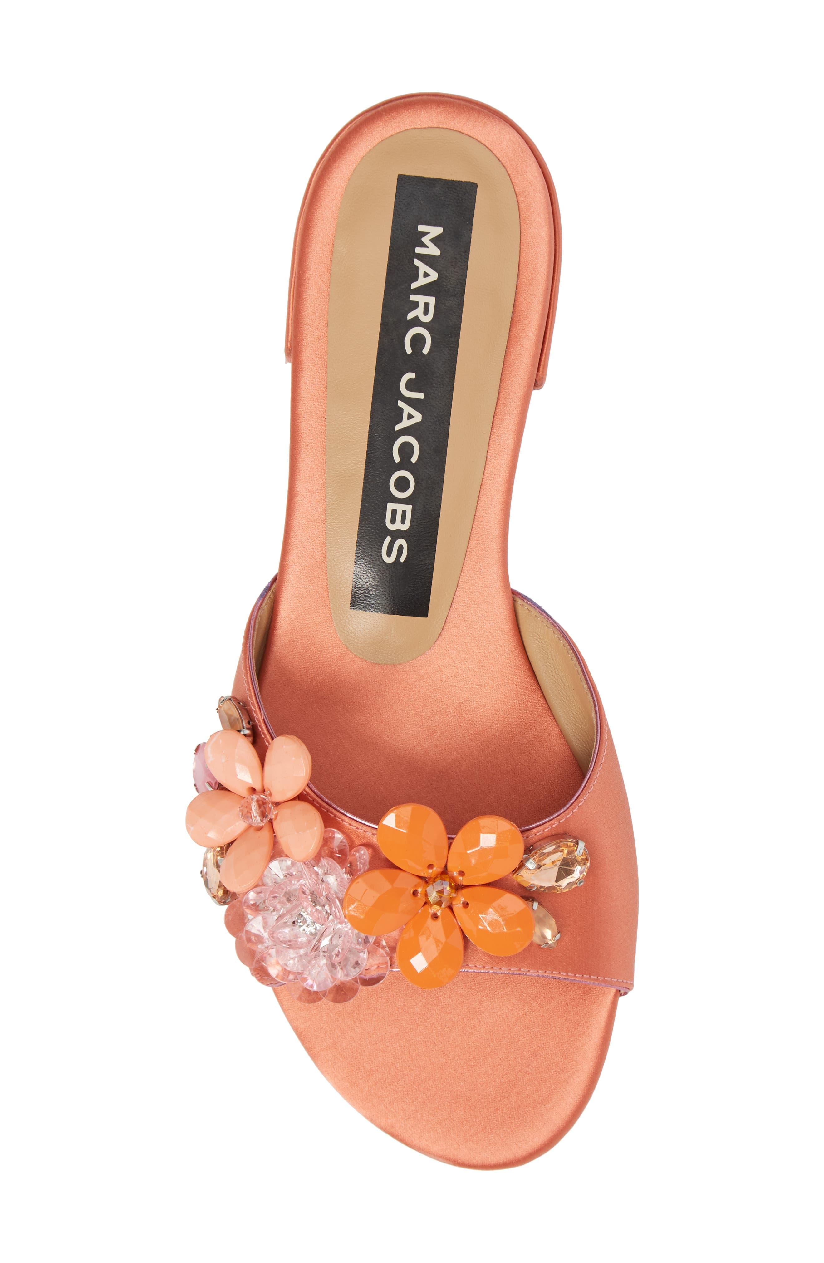 Clara Embellished Slide Sandal,                             Alternate thumbnail 5, color,                             659