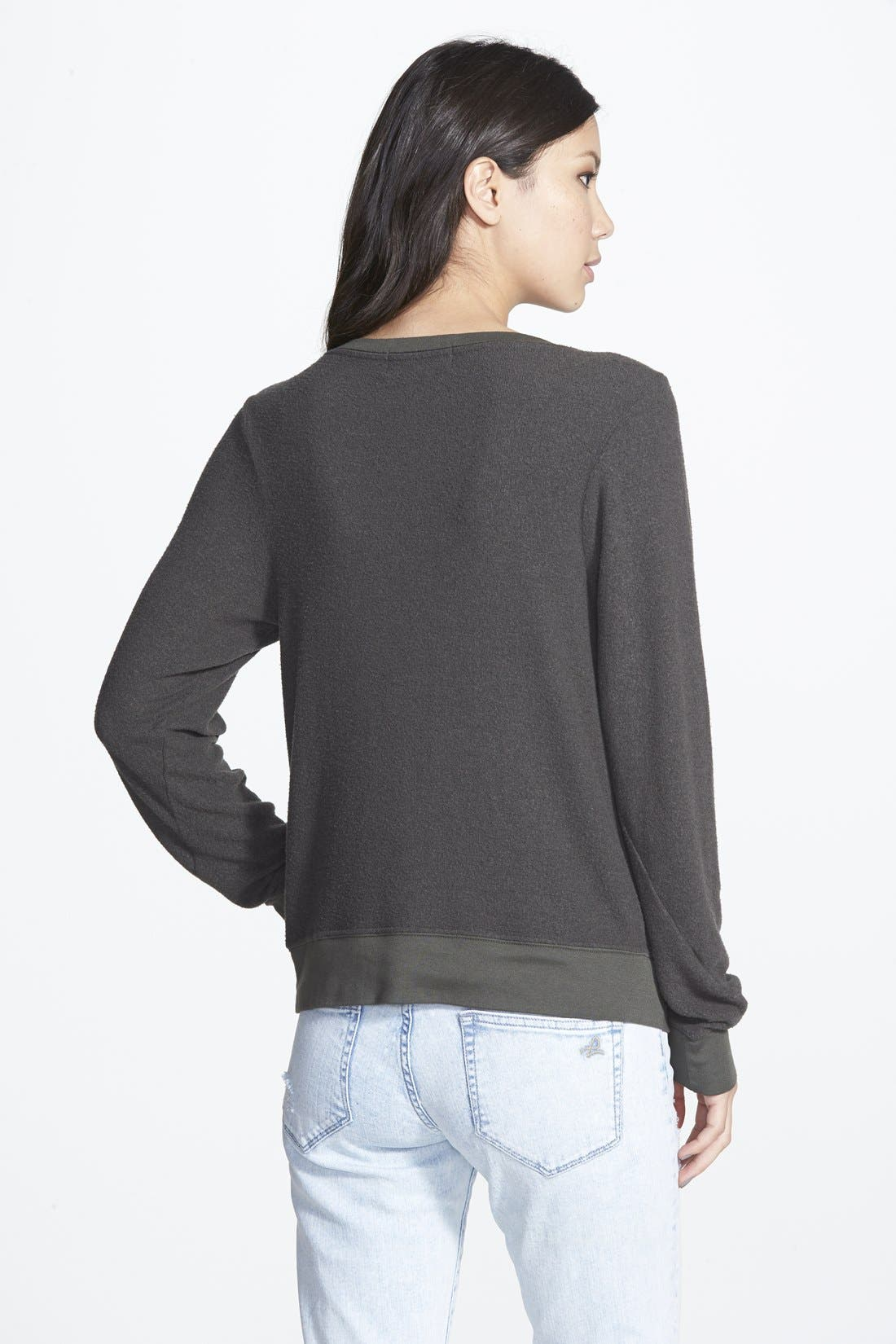 'Baggy Beach Jumper' Pullover,                             Alternate thumbnail 144, color,