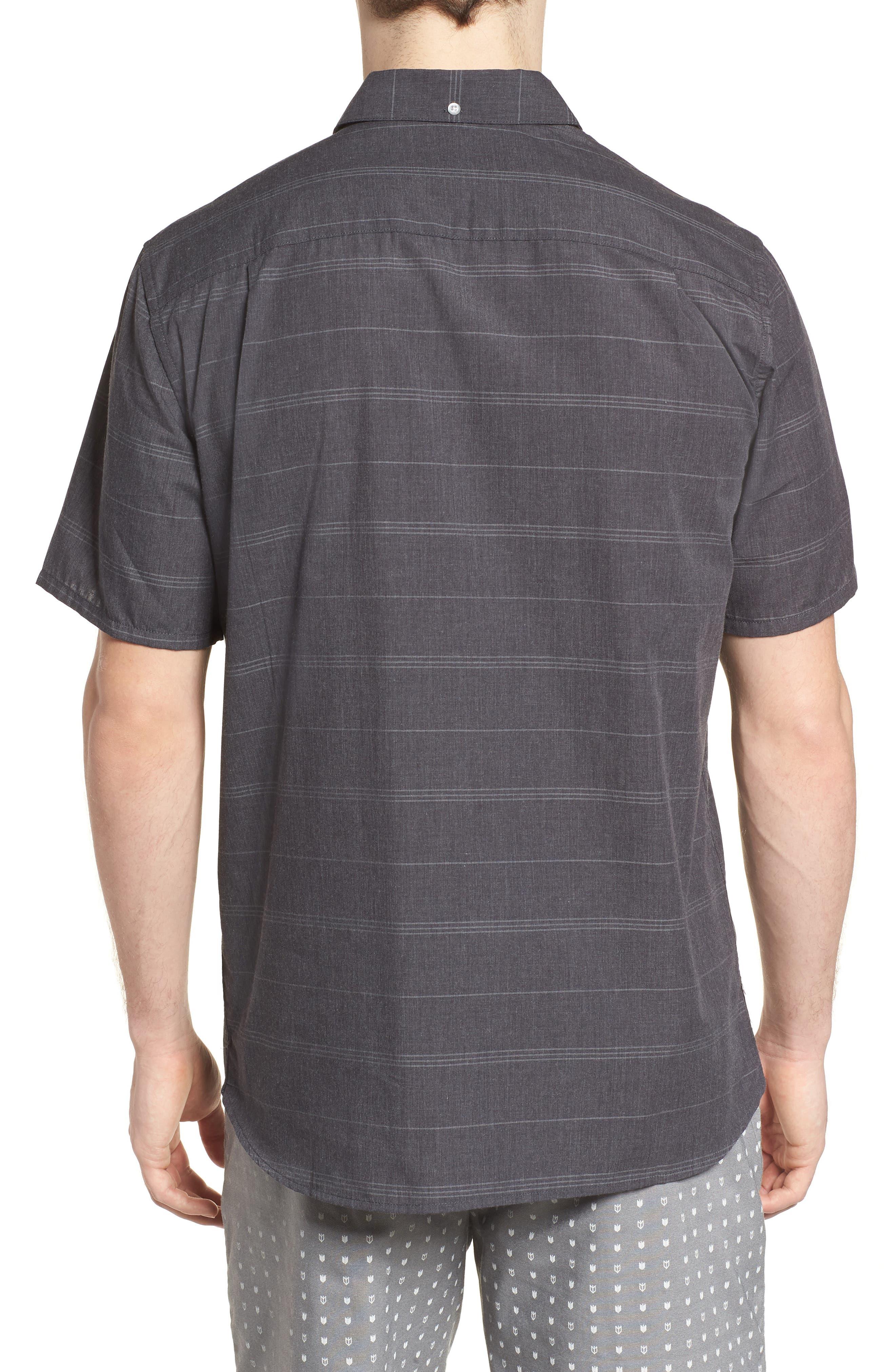HURLEY,                             Dri-FIT Rhythm Shirt,                             Alternate thumbnail 2, color,                             010