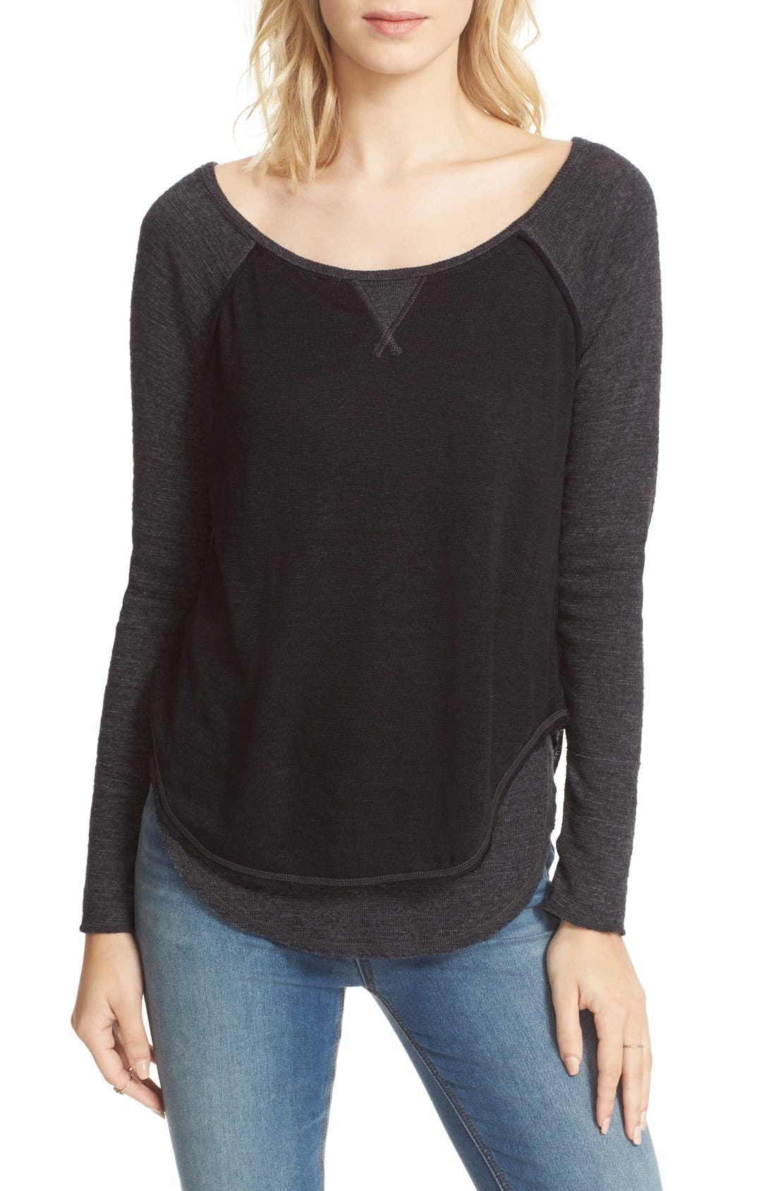 We the Free by Free People Friday Feelin Tee,                             Alternate thumbnail 22, color,
