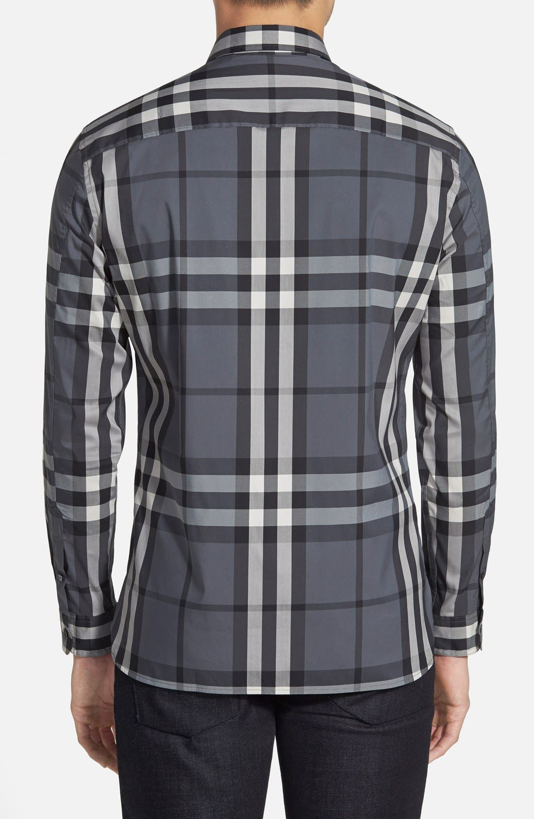 Nelson Check Sport Shirt,                             Alternate thumbnail 29, color,