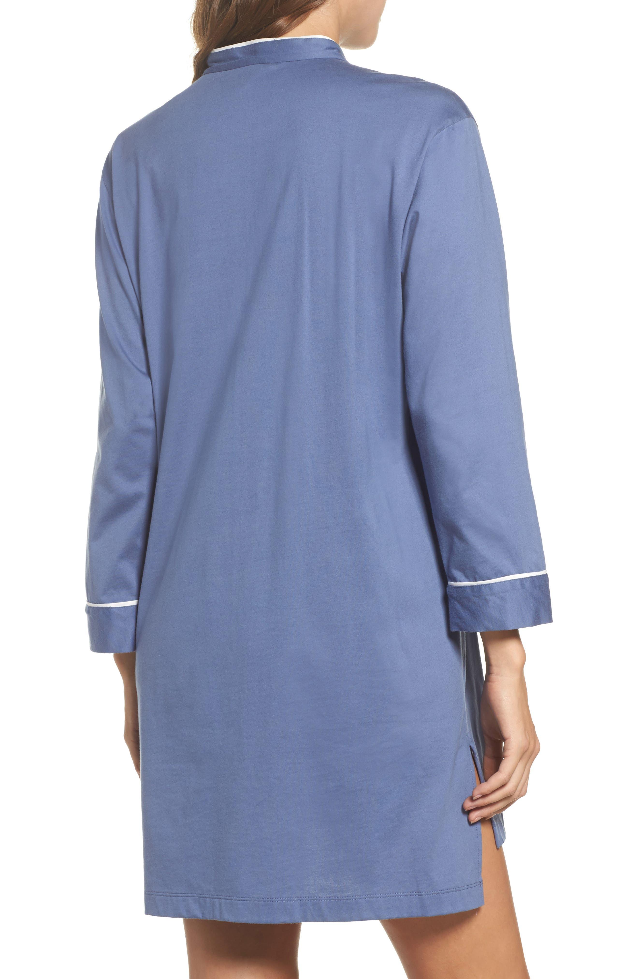 Bliss Supima<sup>®</sup> Cotton Sleep Shirt,                             Alternate thumbnail 2, color,