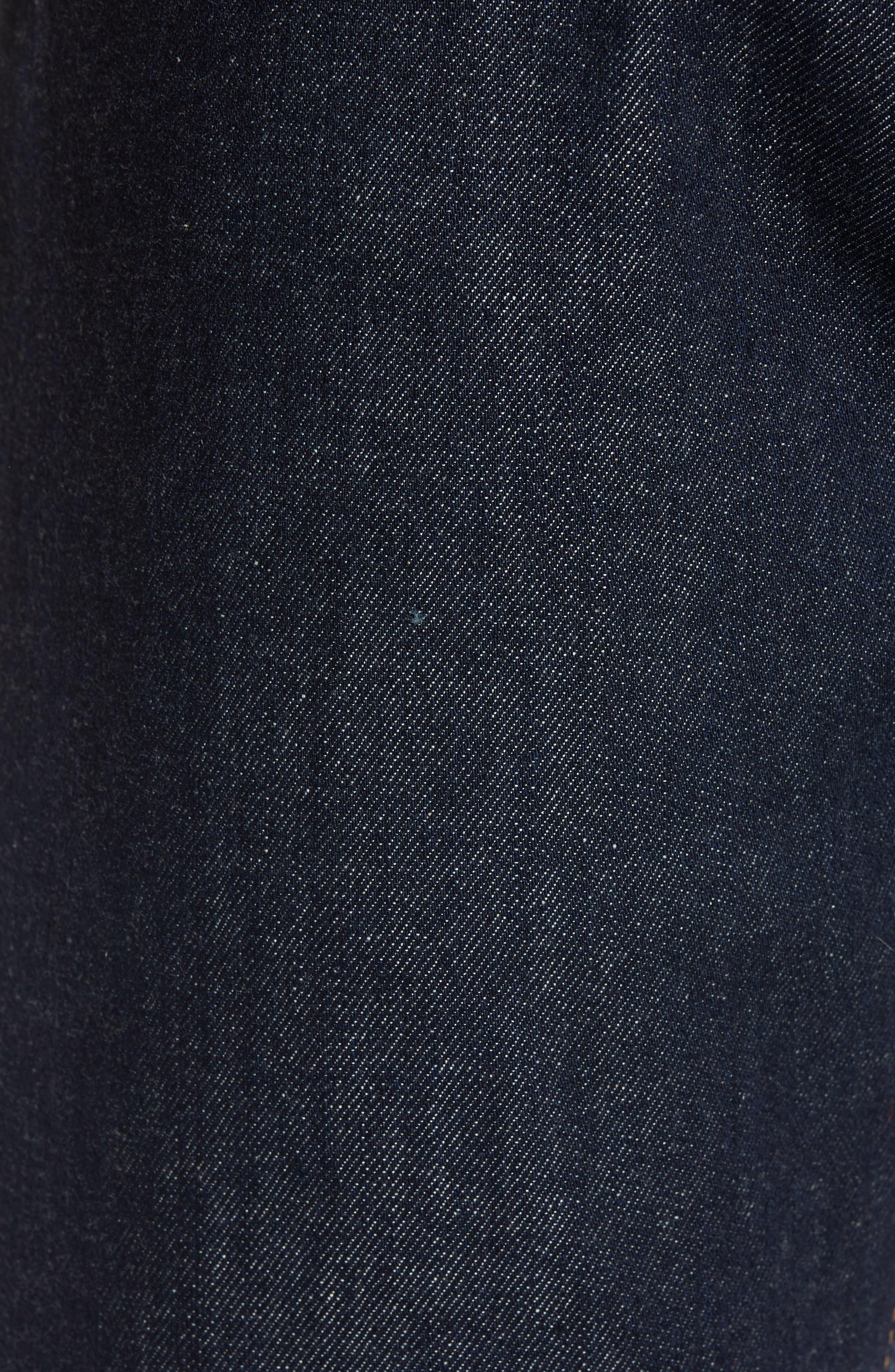 Tellis Slim Fit Jeans,                             Alternate thumbnail 5, color,                             PARTRIDGE
