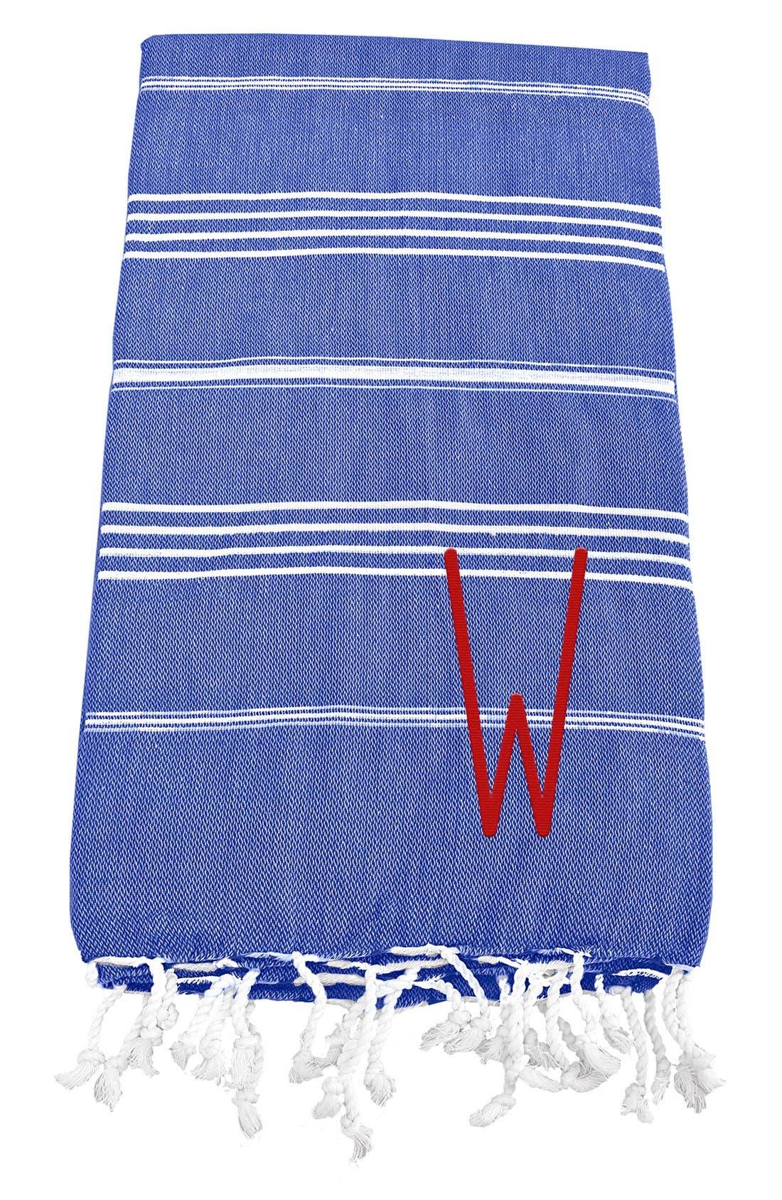 Monogram Turkish Cotton Towel,                             Main thumbnail 79, color,