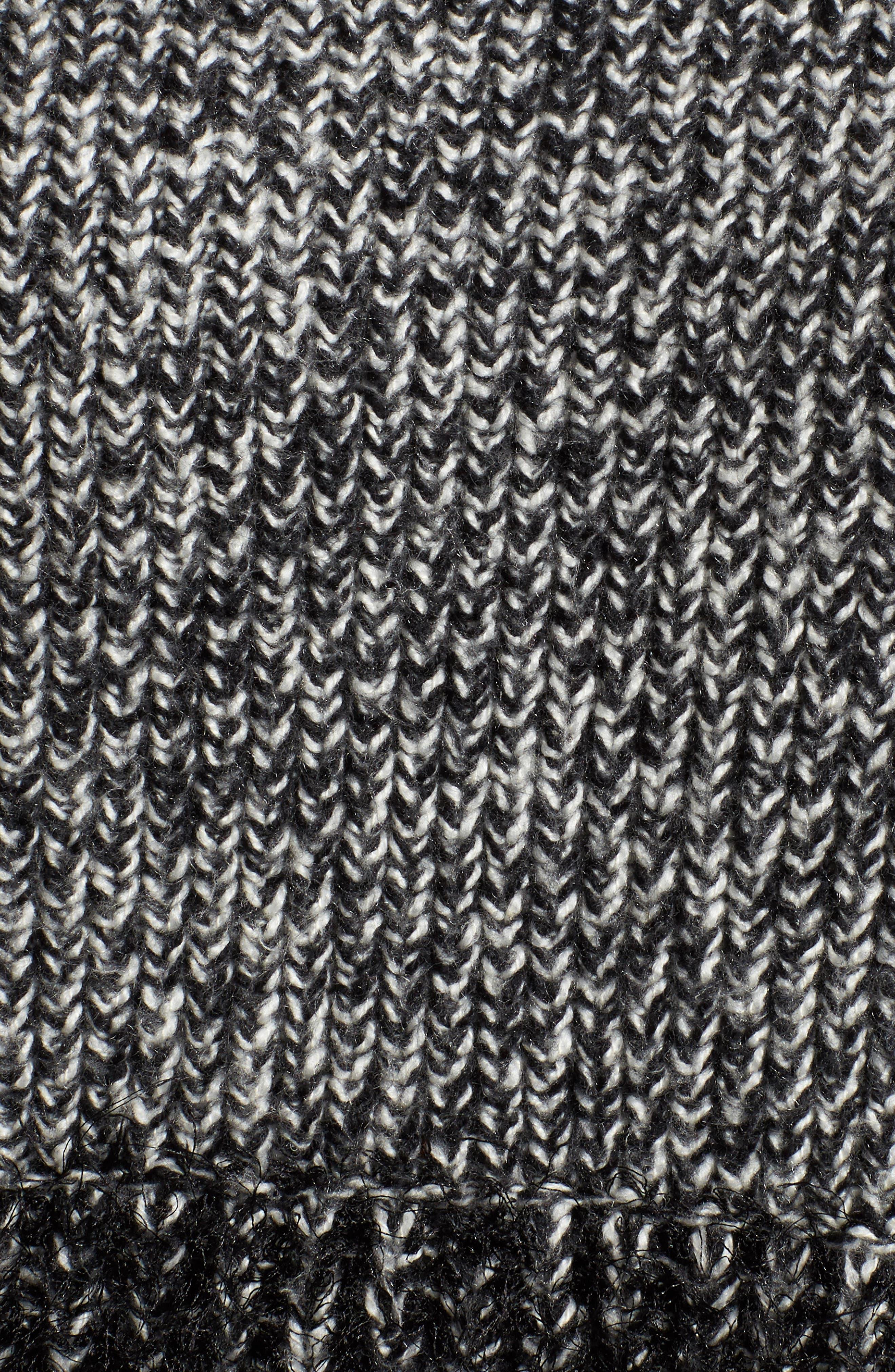 Eyelash Fringe Sweater,                             Alternate thumbnail 5, color,                             006