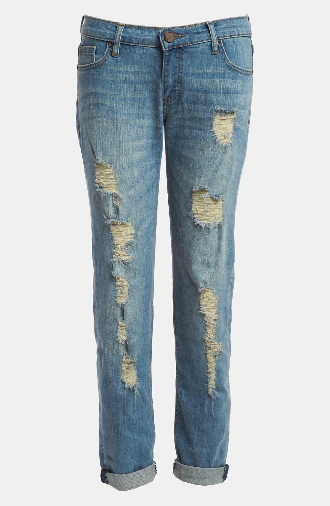 EDYSON 'Soho' Relaxed Boyfriend Jeans, Main, color, 400
