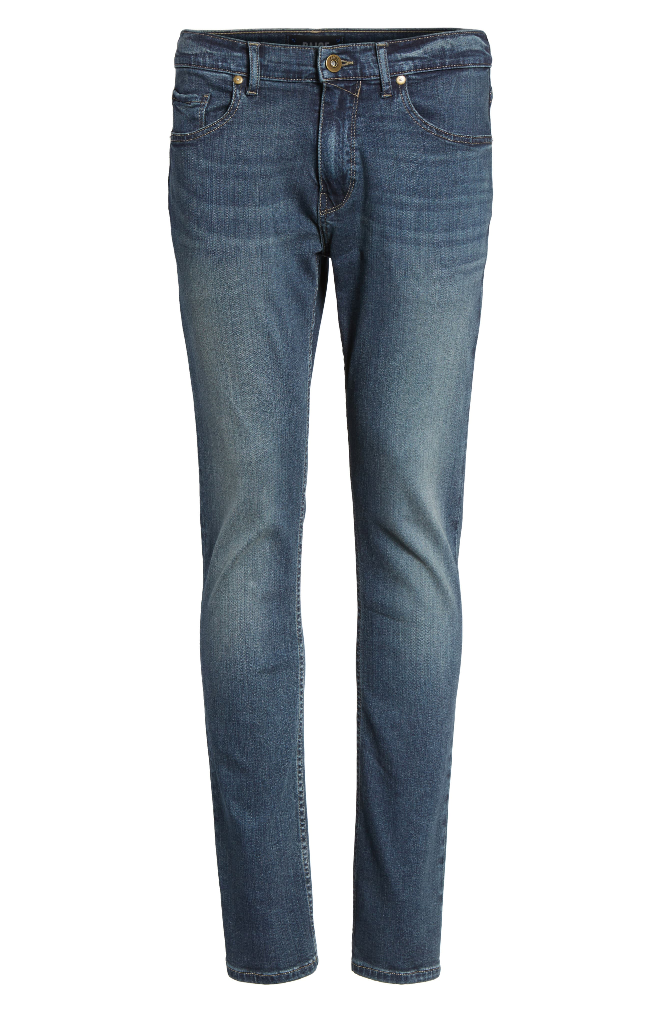 Transcend - Federal Slim Straight Leg Jeans,                             Alternate thumbnail 6, color,                             400