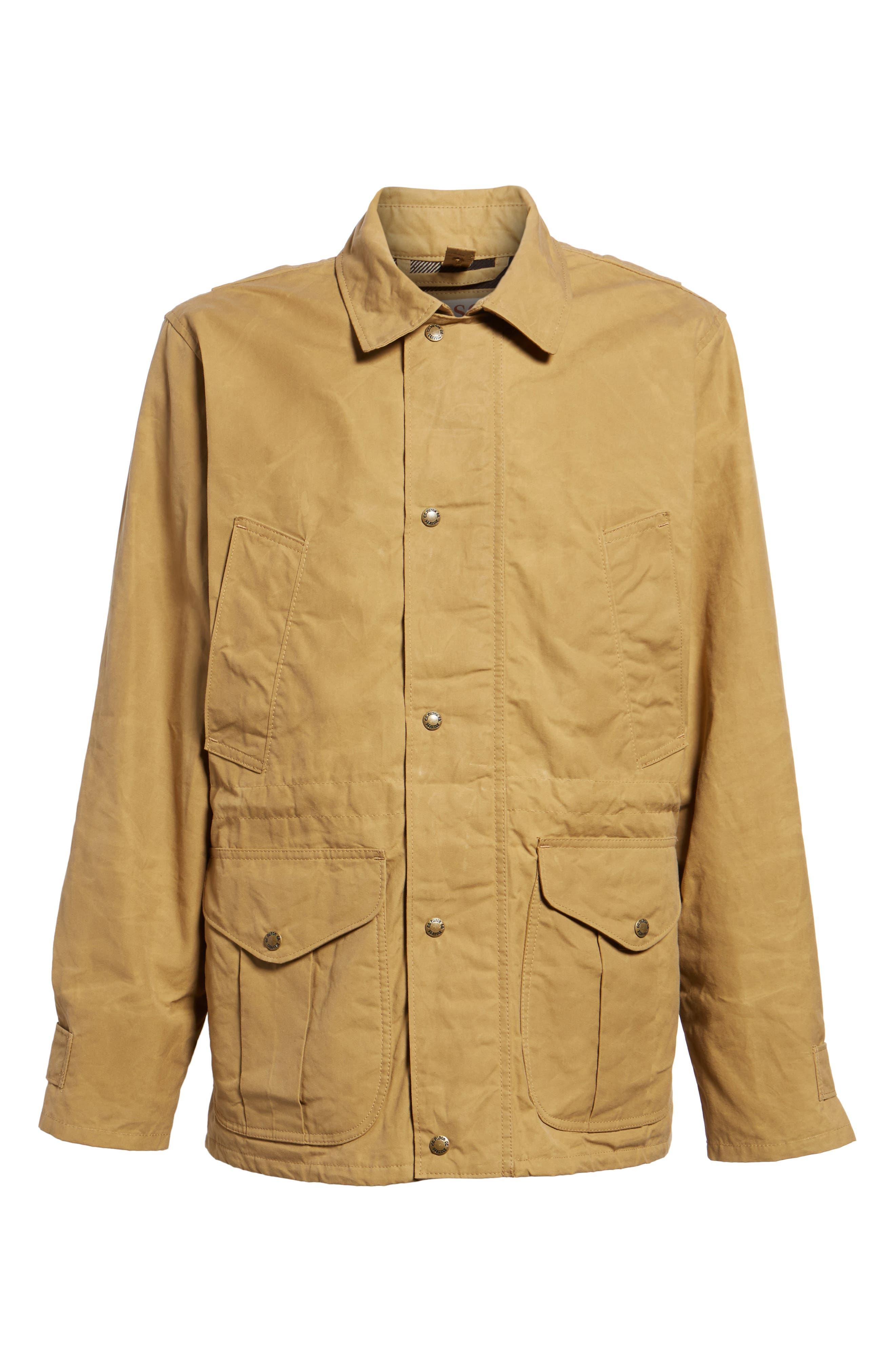 Polson Water Repellent Field Jacket,                             Alternate thumbnail 6, color,                             FIELD KHAKI