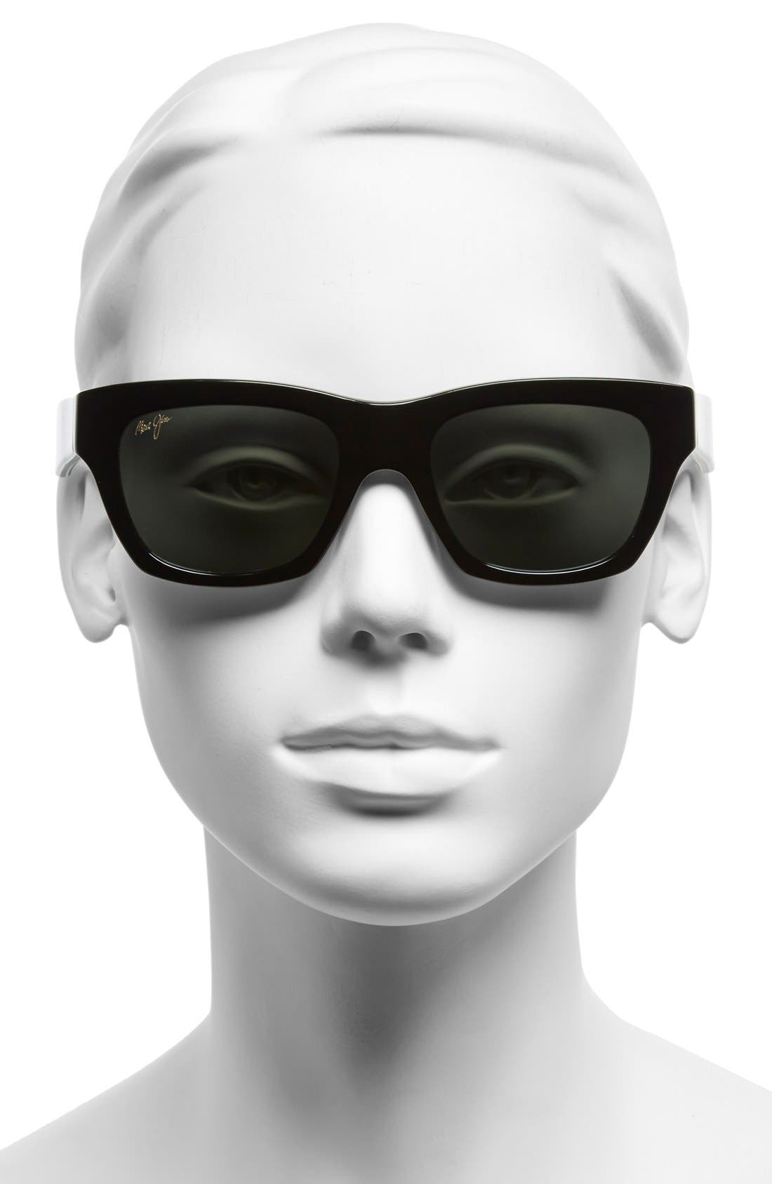 You Move Me 52mm PolarizedPlus2<sup>®</sup> Sunglasses,                             Alternate thumbnail 2, color,                             001
