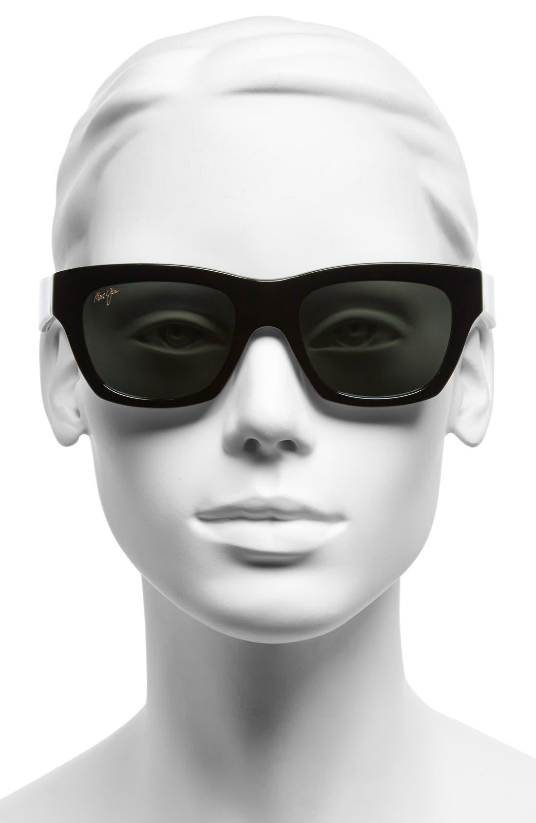 You Move Me 52mm PolarizedPlus2<sup>®</sup> Sunglasses,                             Alternate thumbnail 2, color,