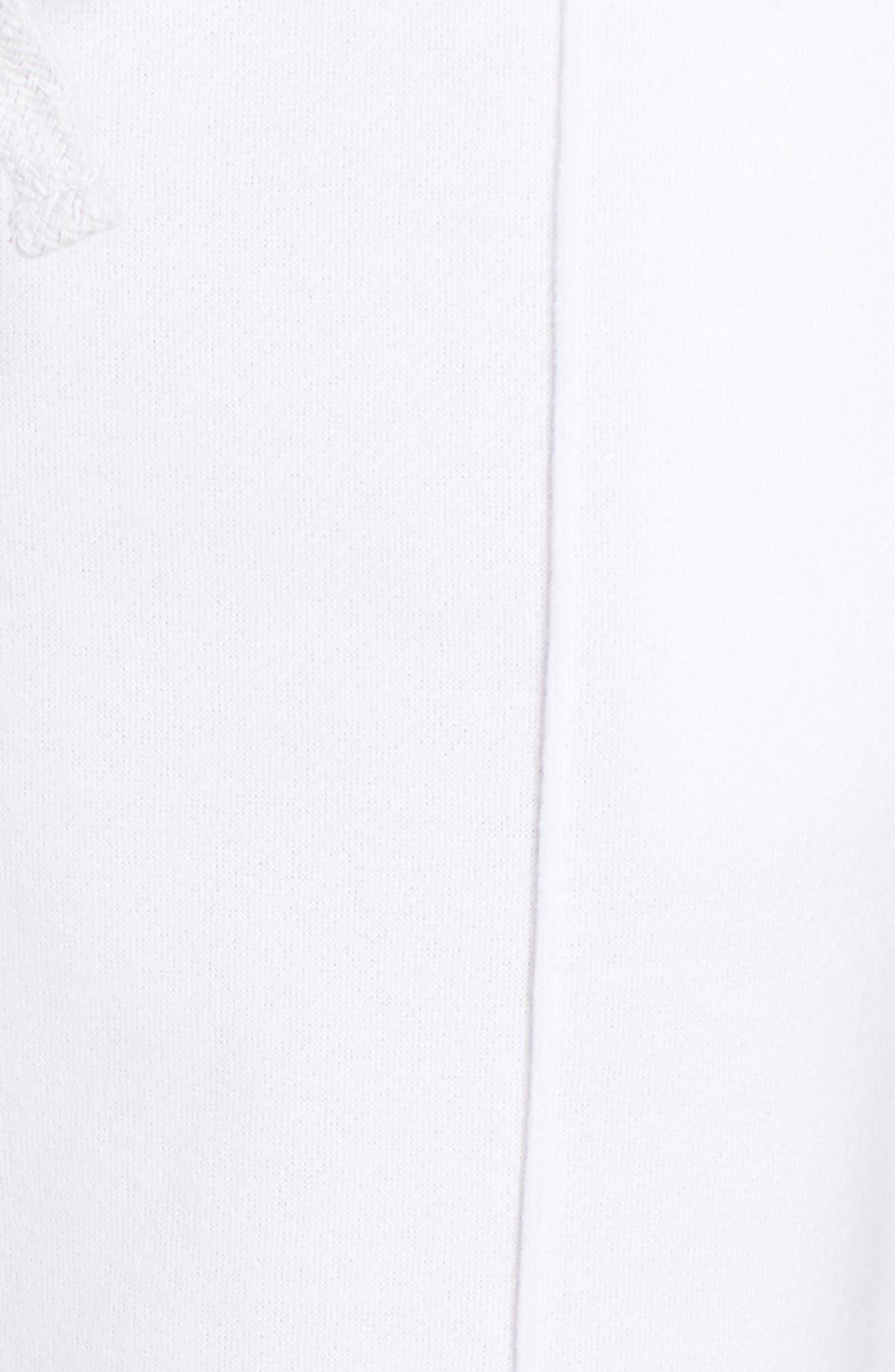 Hang Time Lounge Jogger Pants,                             Alternate thumbnail 5, color,                             OPTIC WHITE