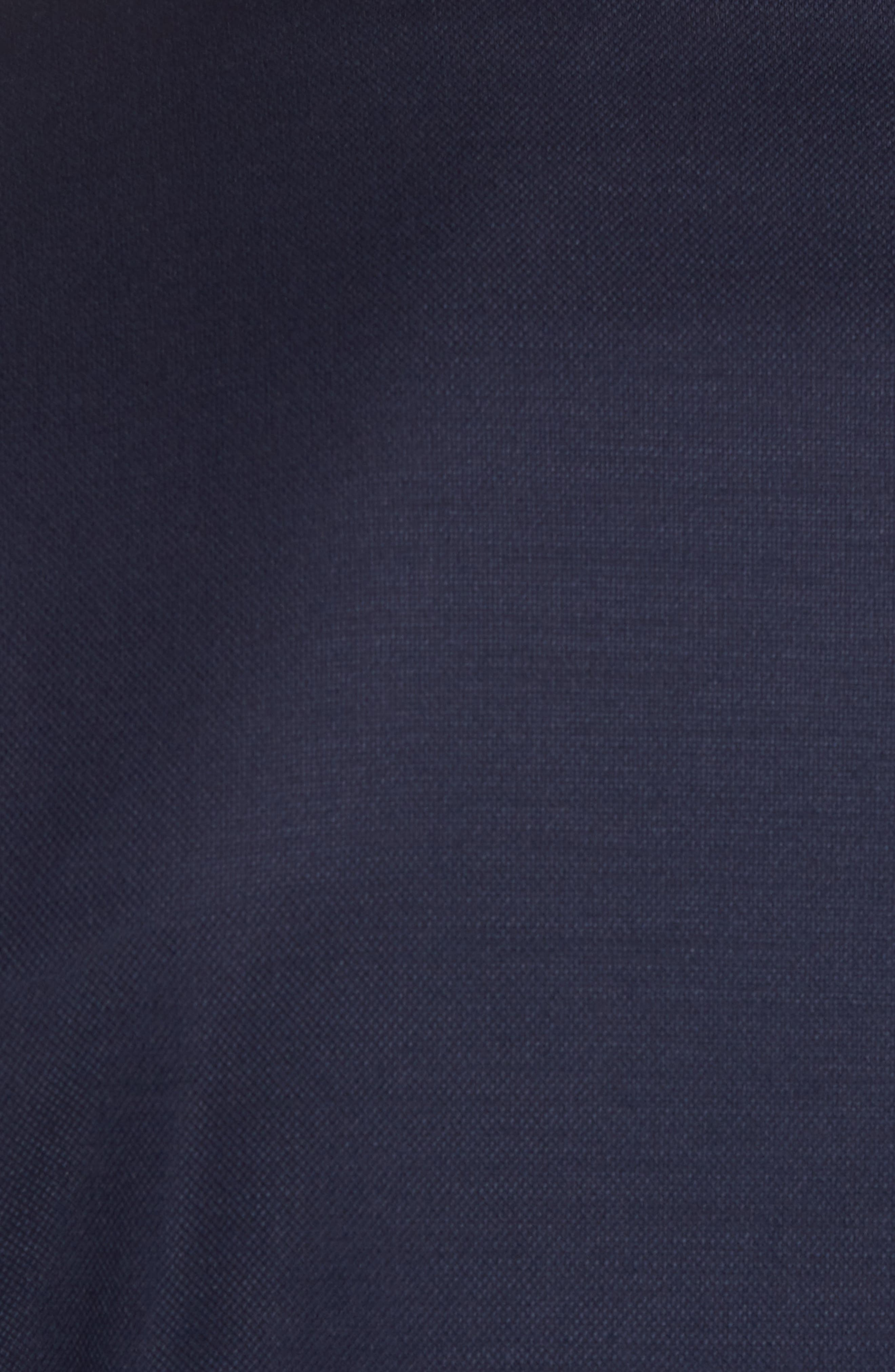 Trim Fit Stretch Wool Travel Blazer,                             Alternate thumbnail 6, color,                             410