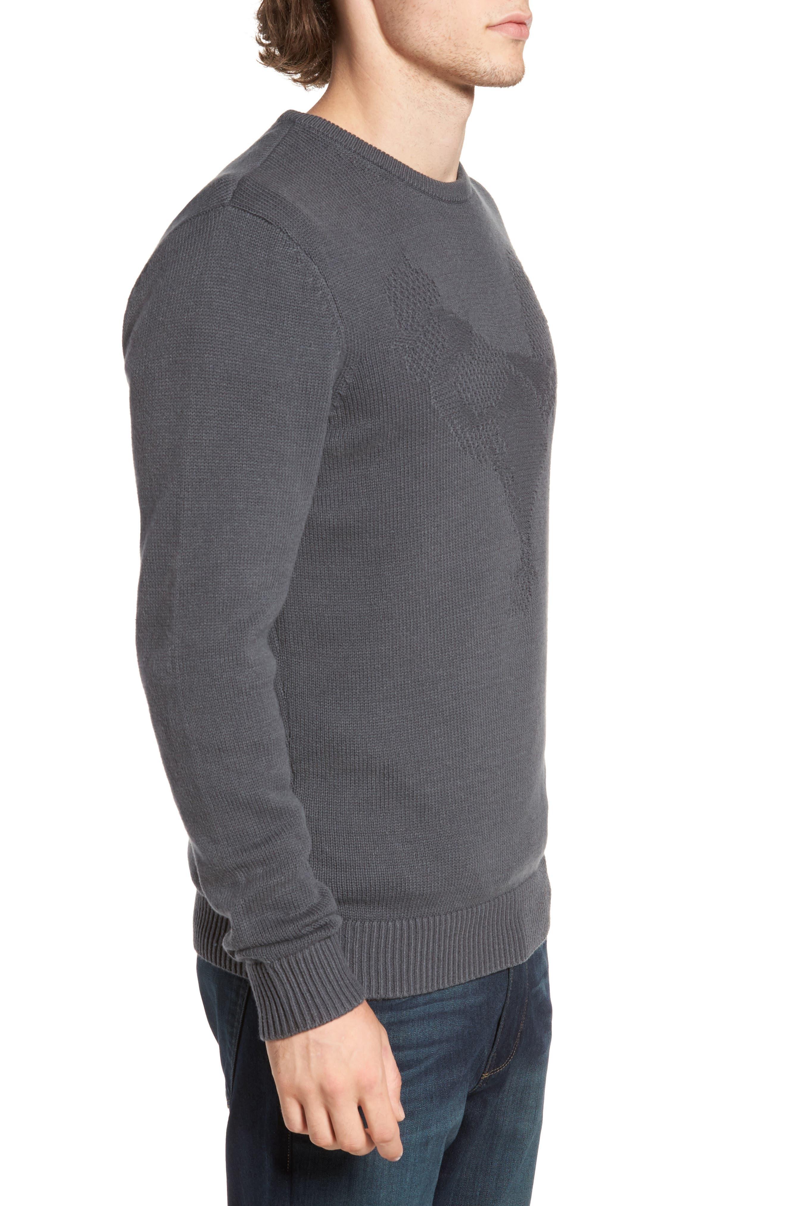 Tonal Motif Sweater,                             Alternate thumbnail 5, color,