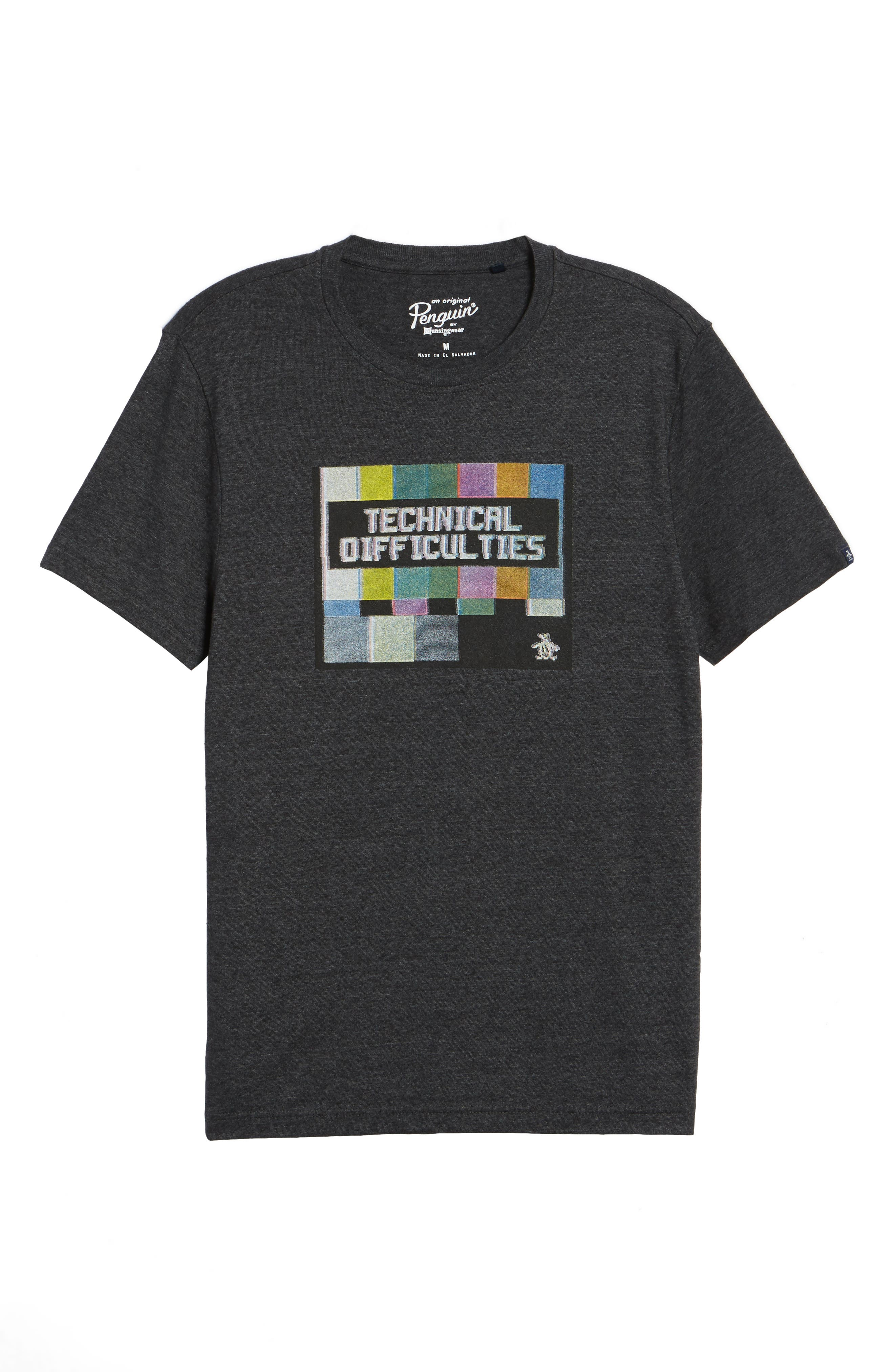 Technical Difficulties T-Shirt,                             Alternate thumbnail 6, color,                             020