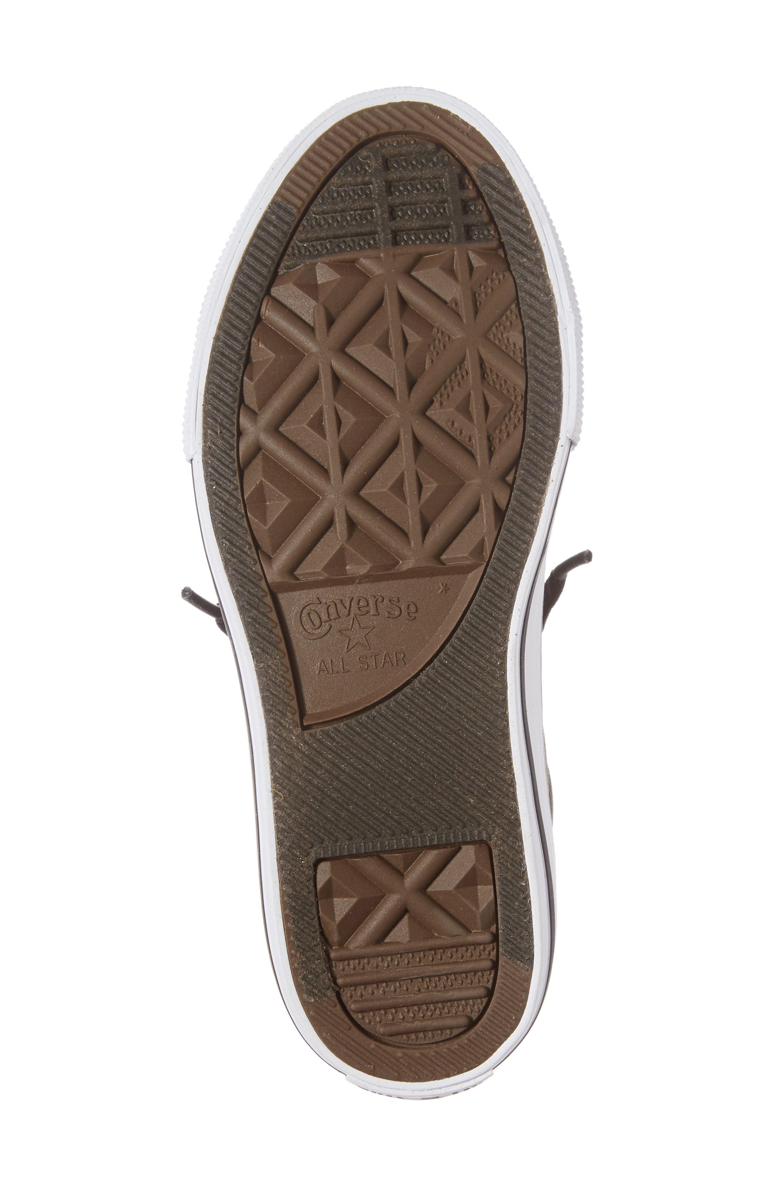 Chuck Taylor<sup>®</sup> All Star<sup>®</sup> Basket Weave Street Mid Sneaker,                             Alternate thumbnail 6, color,                             342