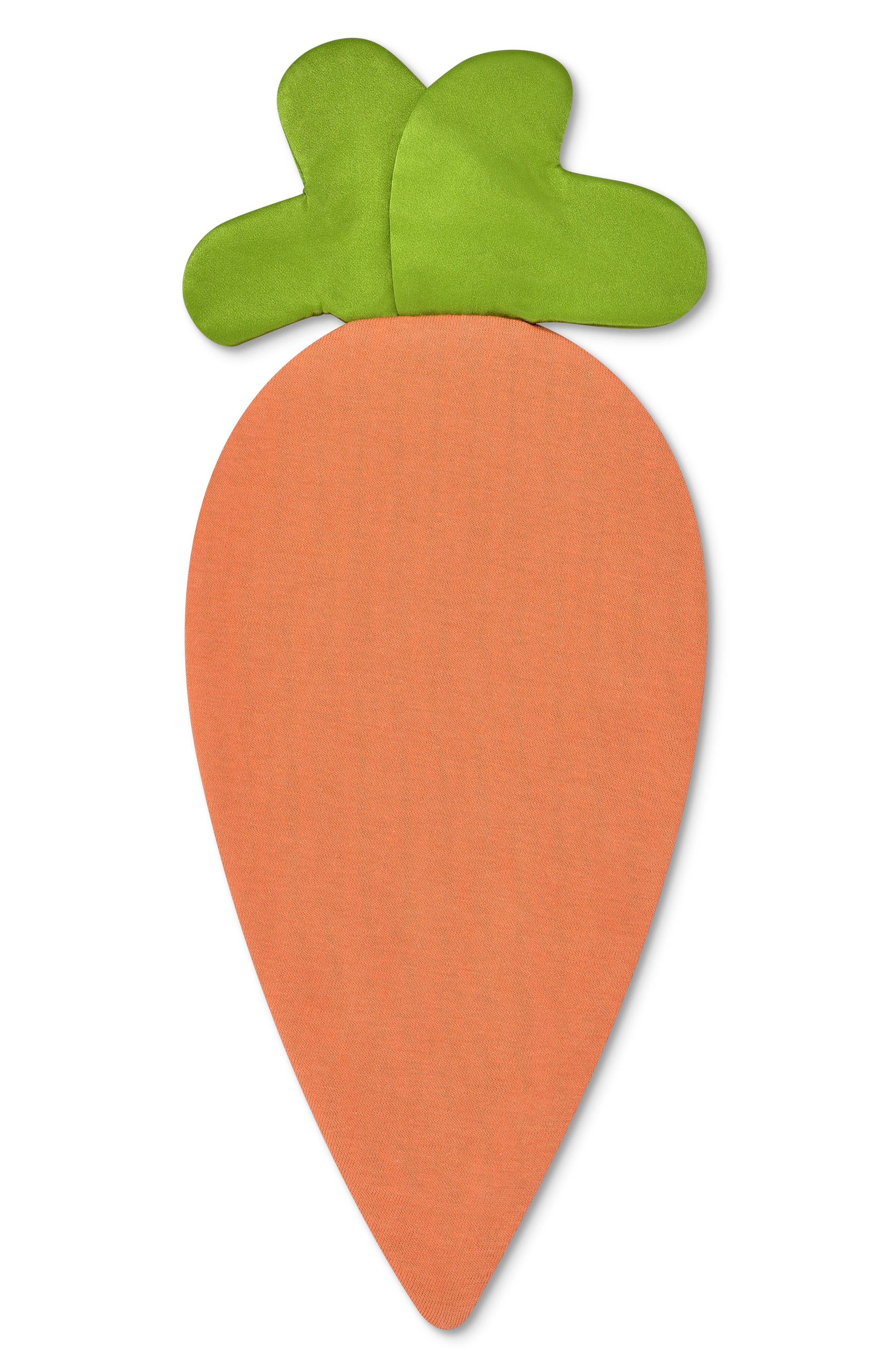 Carrot Crinkle Blankie,                             Alternate thumbnail 3, color,                             ORANGE