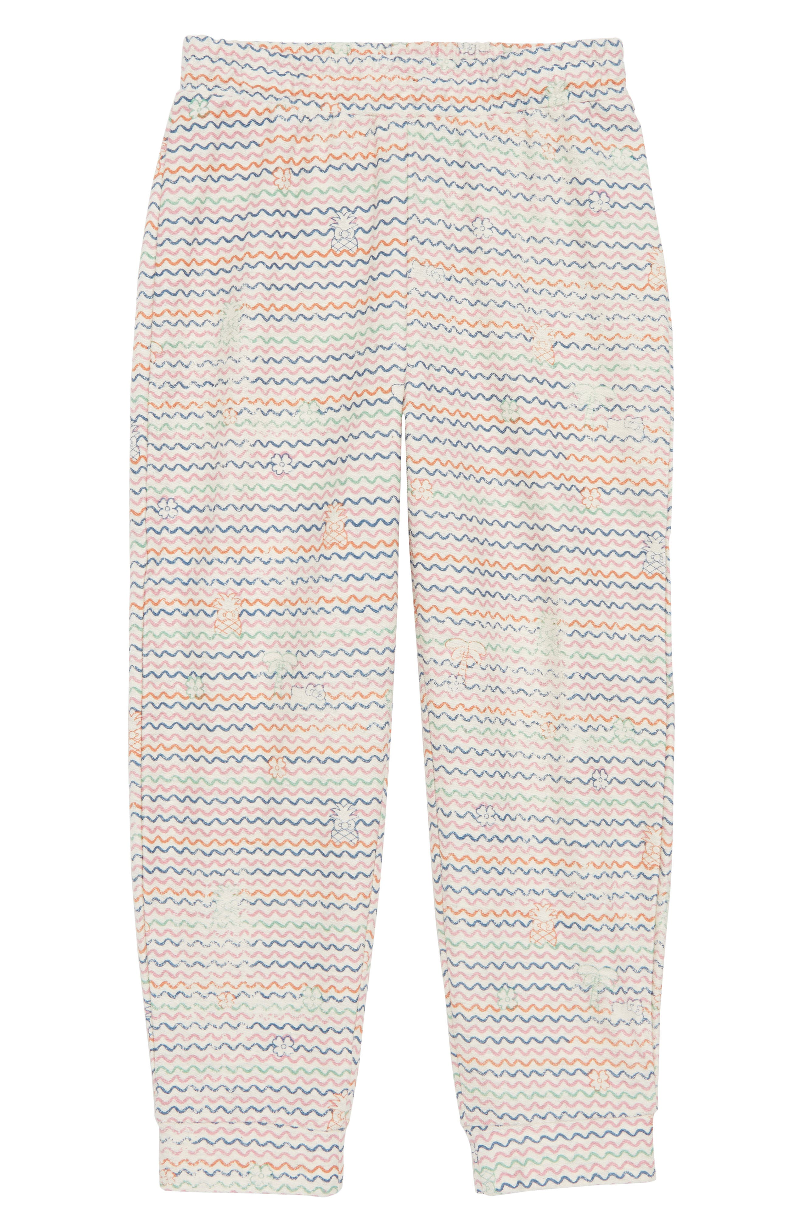 x Hello Kitty<sup>®</sup> Tropical Treasures Fleece Pants,                             Main thumbnail 1, color,                             250