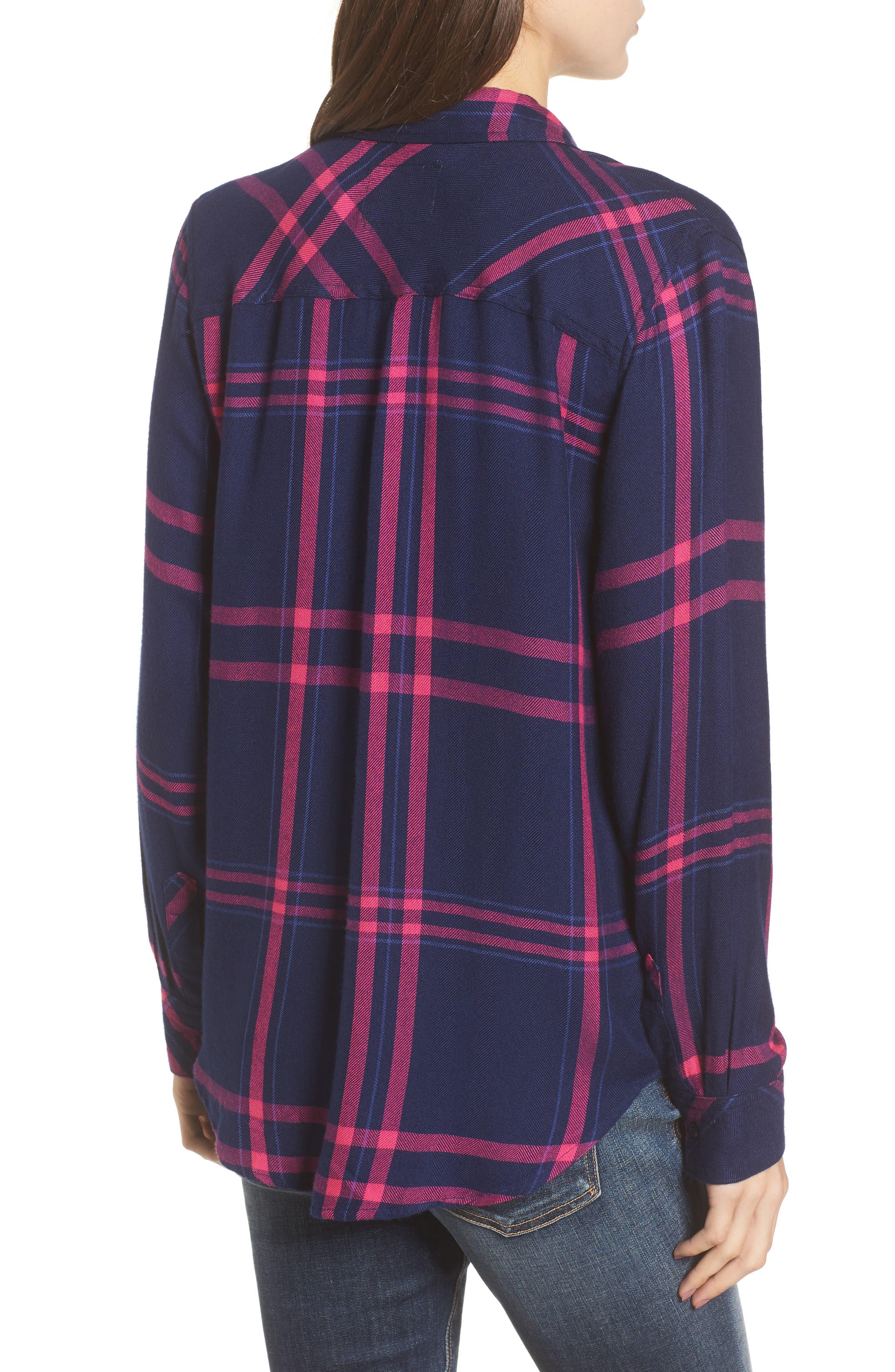 Hunter Plaid Shirt,                             Alternate thumbnail 184, color,