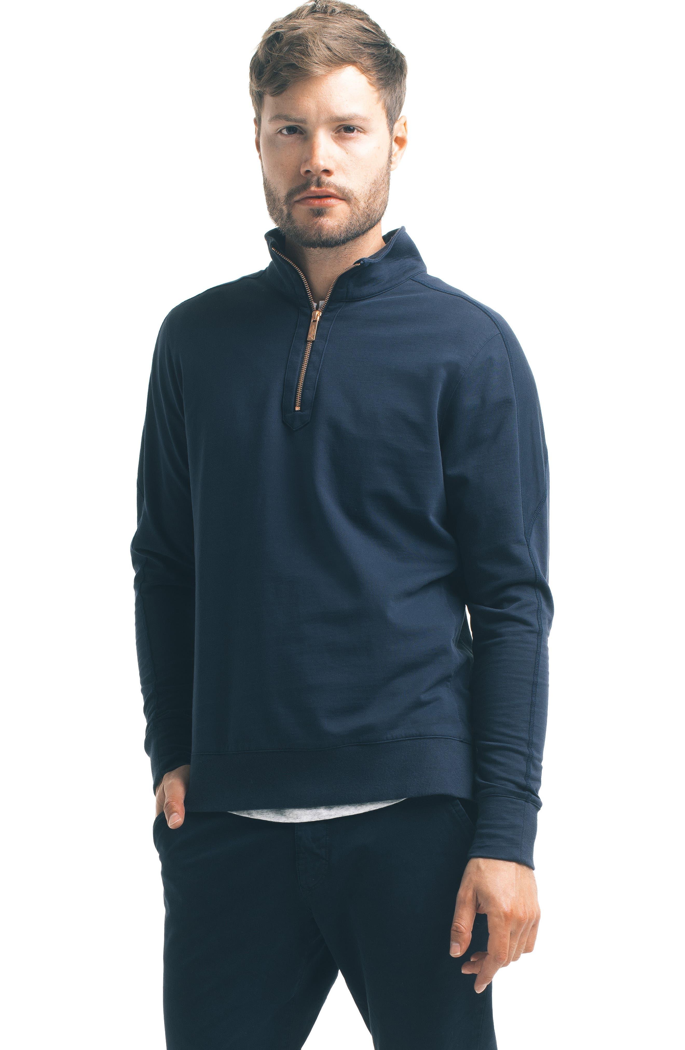 Slim Pro Quarter Zip Pullover,                             Alternate thumbnail 15, color,