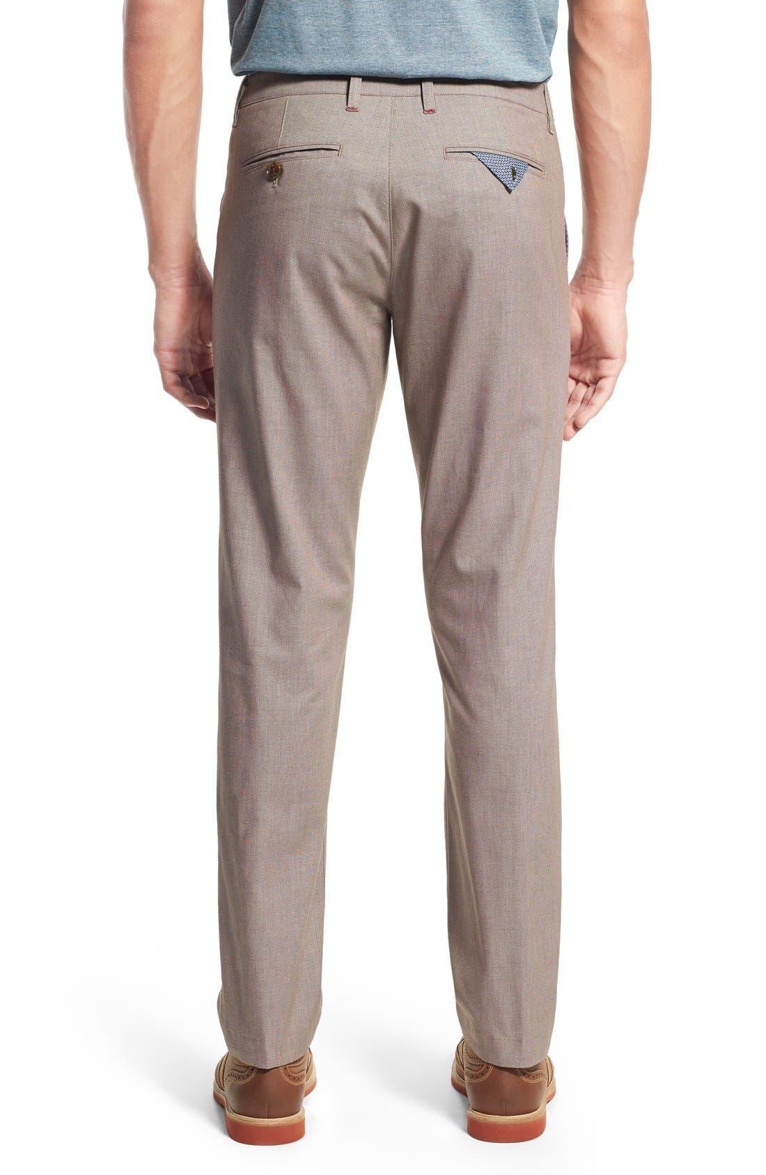 'Timmet' Classic Fit Pants,                             Alternate thumbnail 5, color,                             103