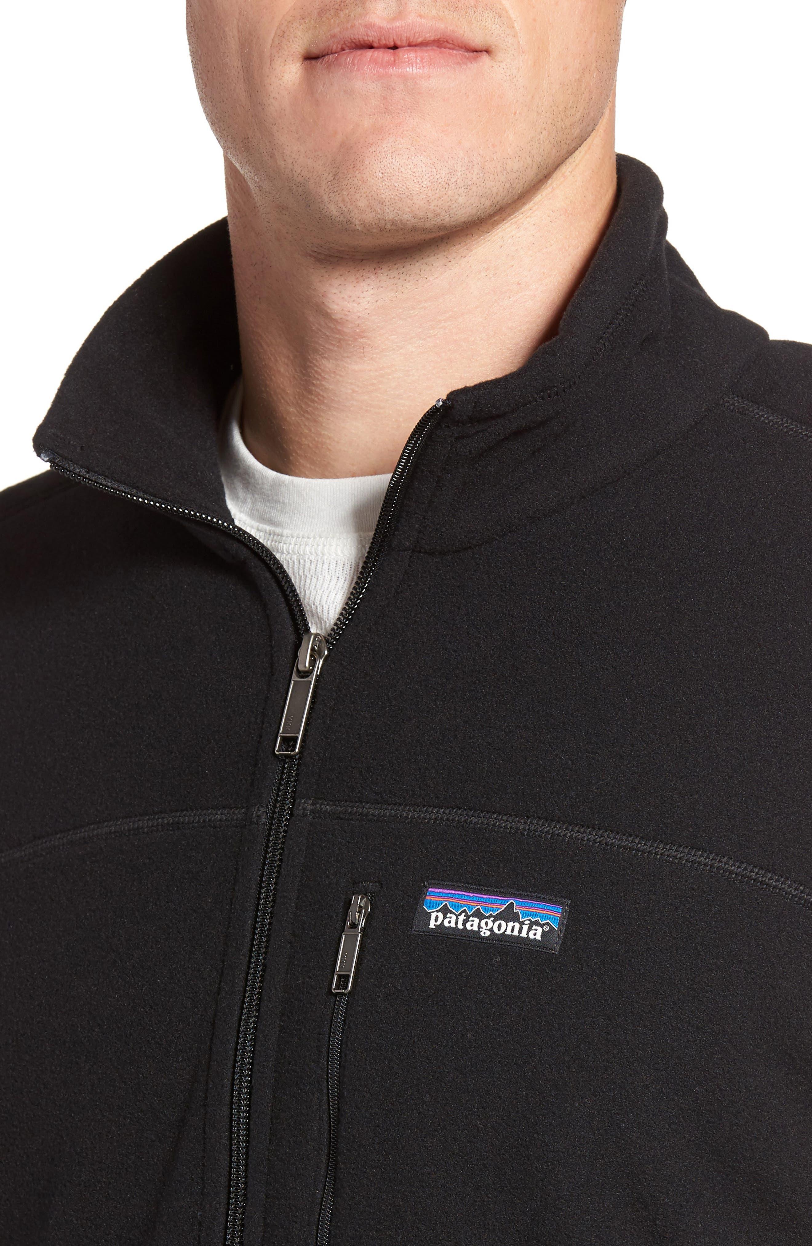 Micro D<sup>®</sup> Fleece Jacket,                             Alternate thumbnail 5, color,                             001