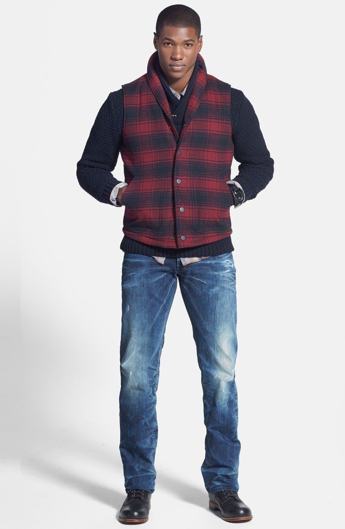 Shawl Collar Sweater,                             Alternate thumbnail 4, color,                             020
