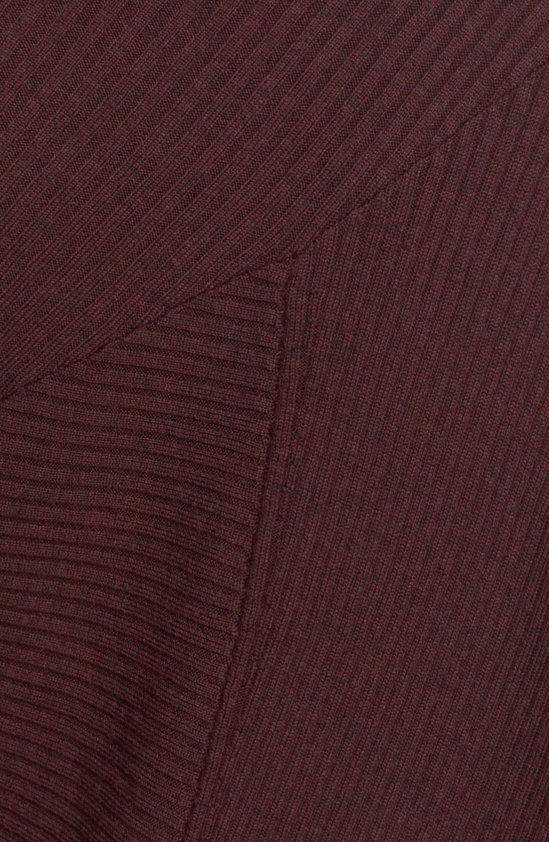 Knit Merino Wool Swing Dress,                             Alternate thumbnail 4, color,                             930