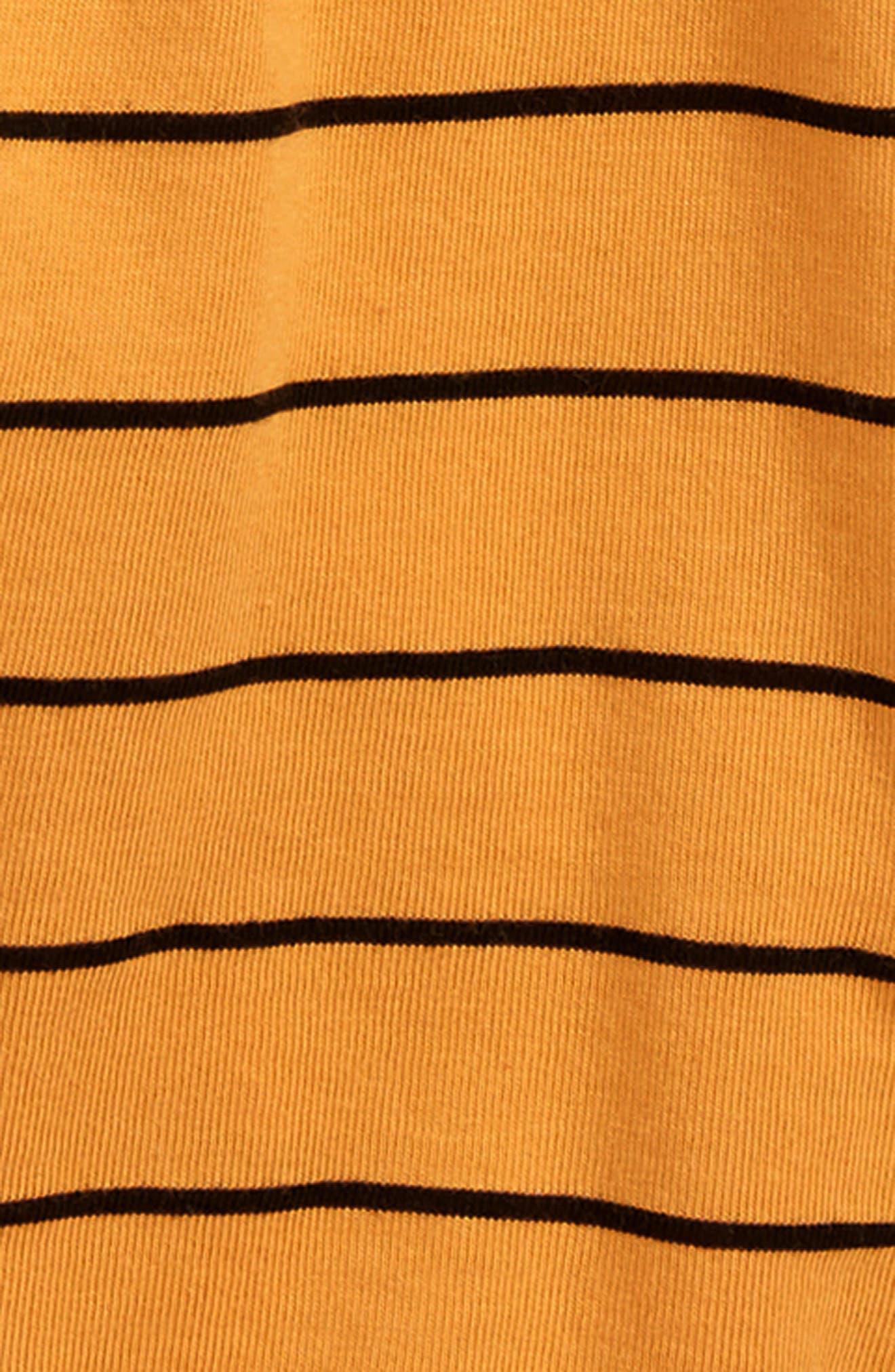 Graphic T-Shirt & Pants Set,                             Alternate thumbnail 2, color,                             WHITE/ MARIGOLD