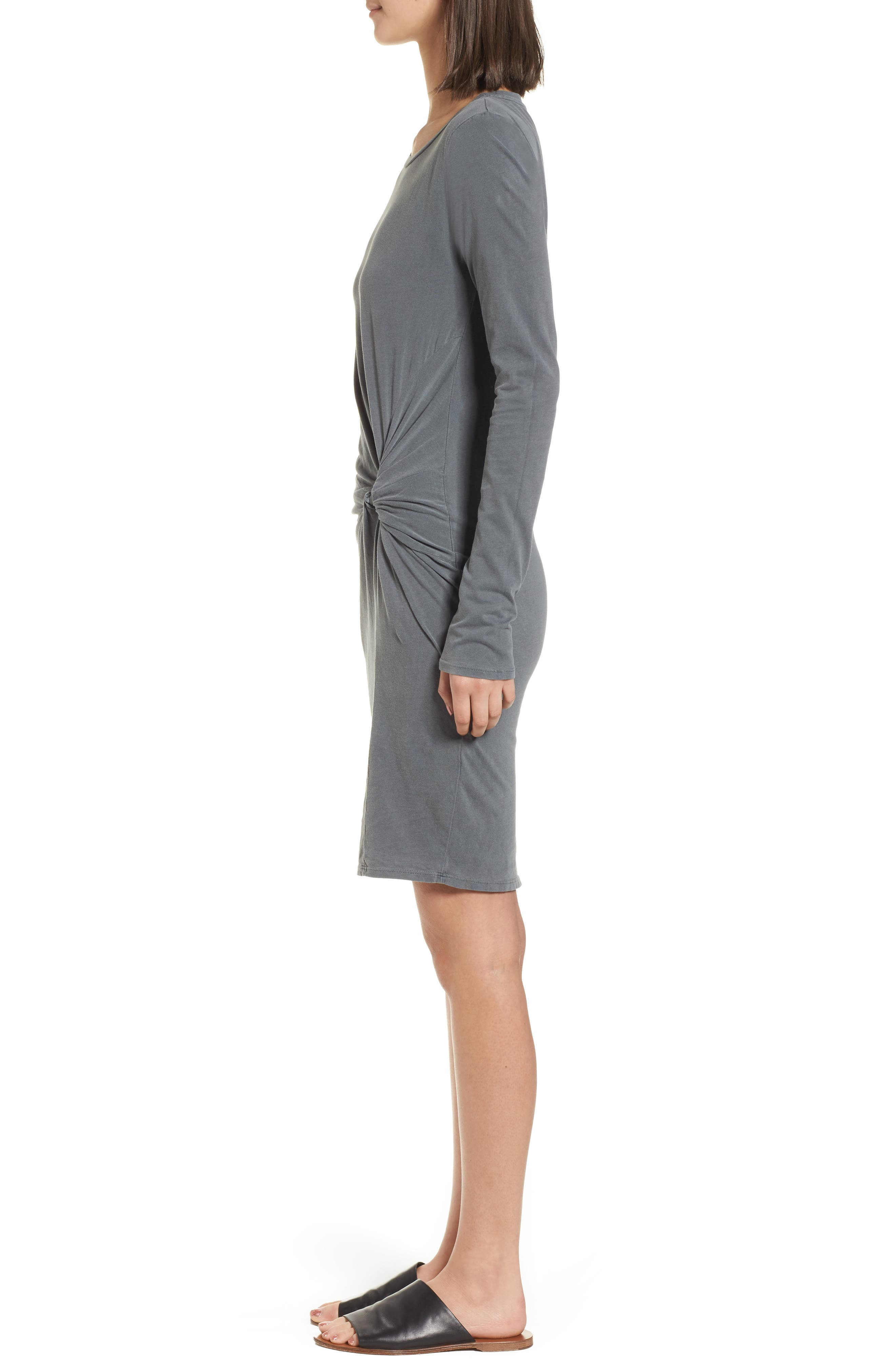 Twist Dress,                             Alternate thumbnail 3, color,                             020