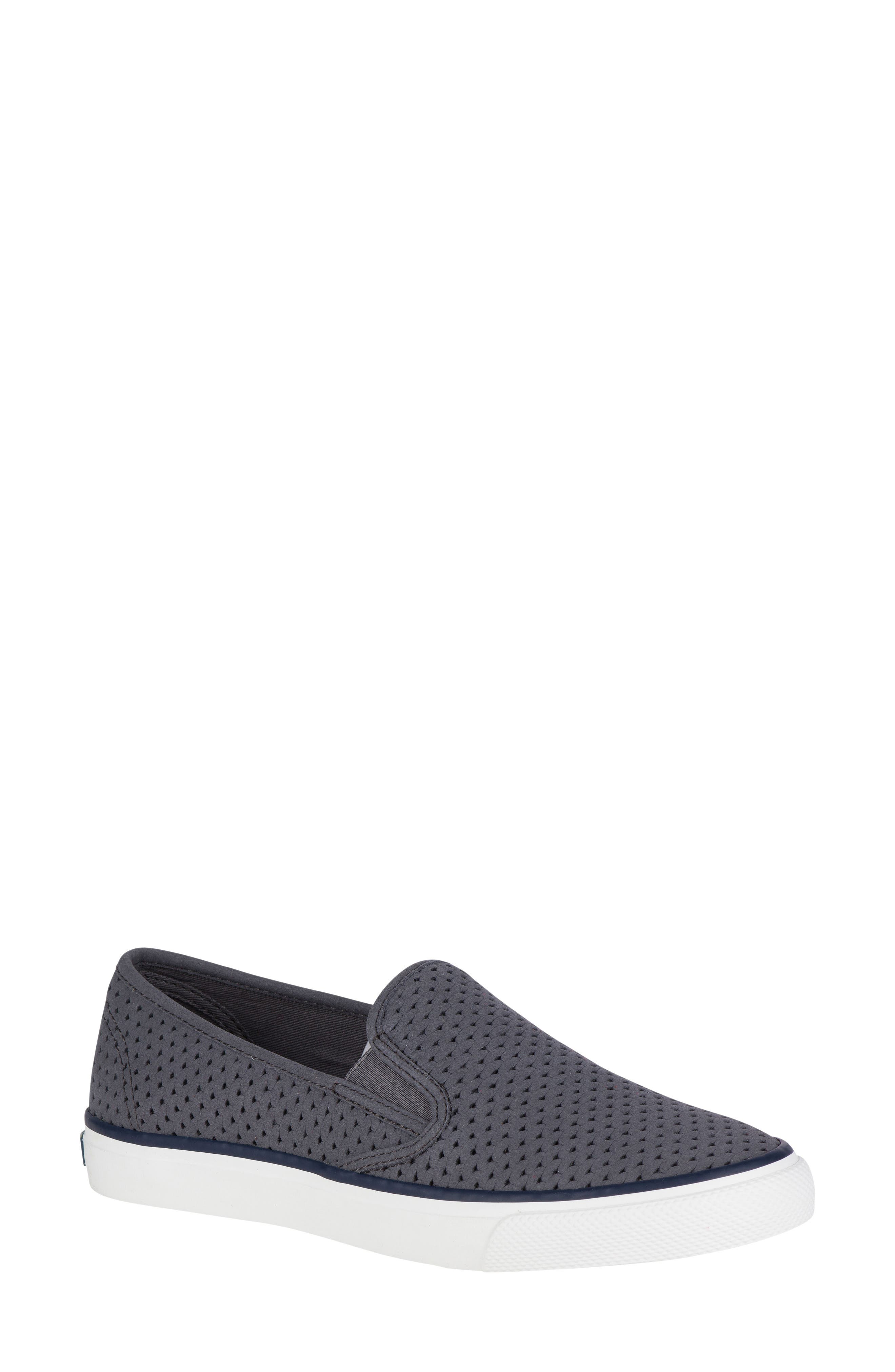 'Seaside' Perforated Slip-On Sneaker,                             Main thumbnail 5, color,