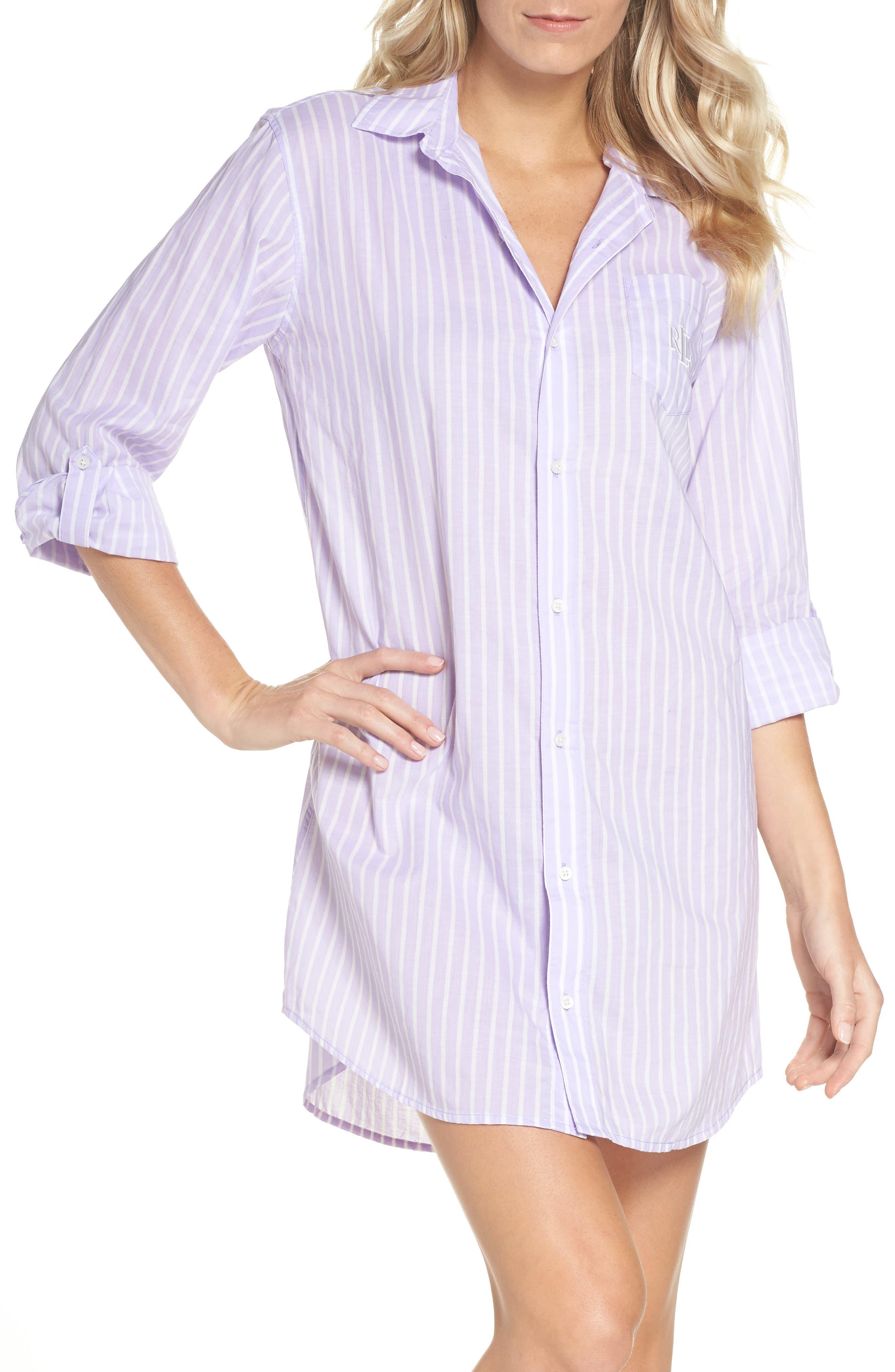 Print Sleep Shirt,                         Main,                         color, 537