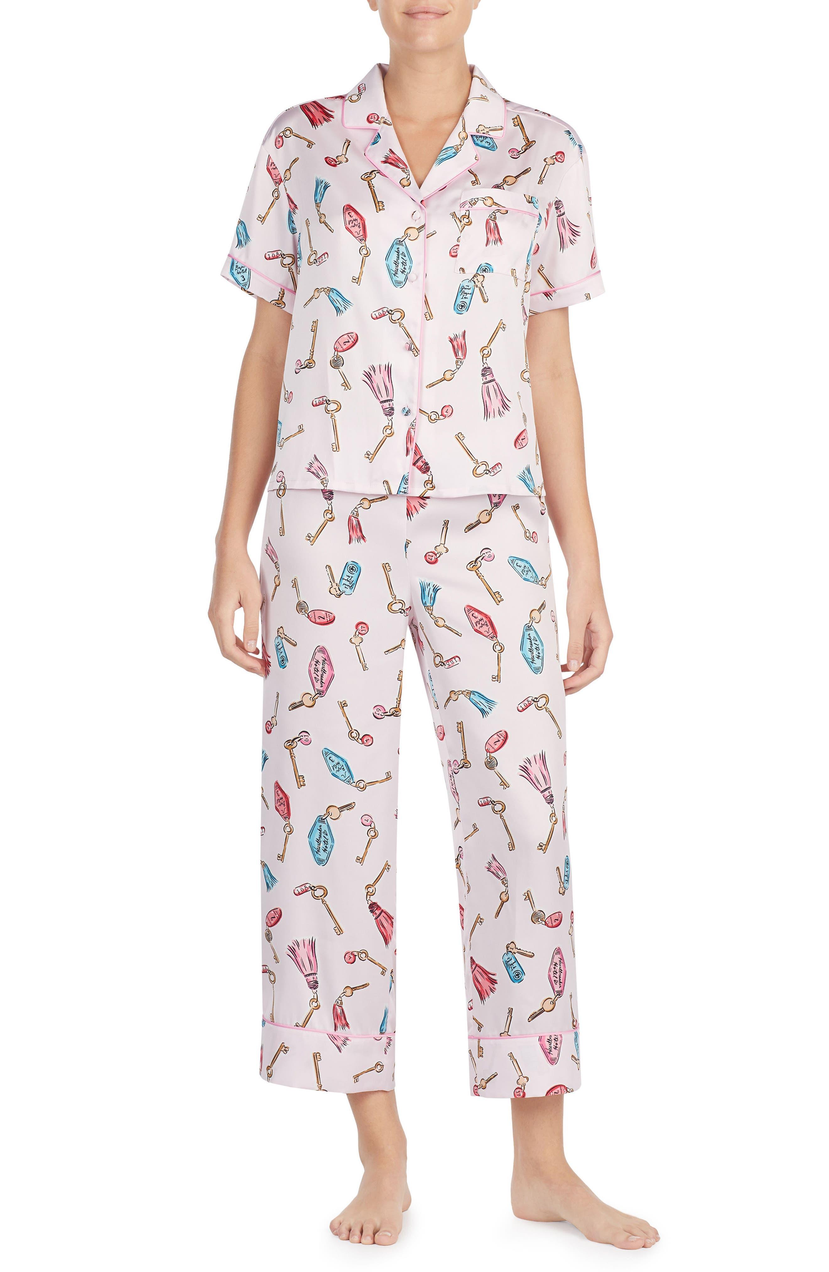 print pajamas,                             Main thumbnail 3, color,