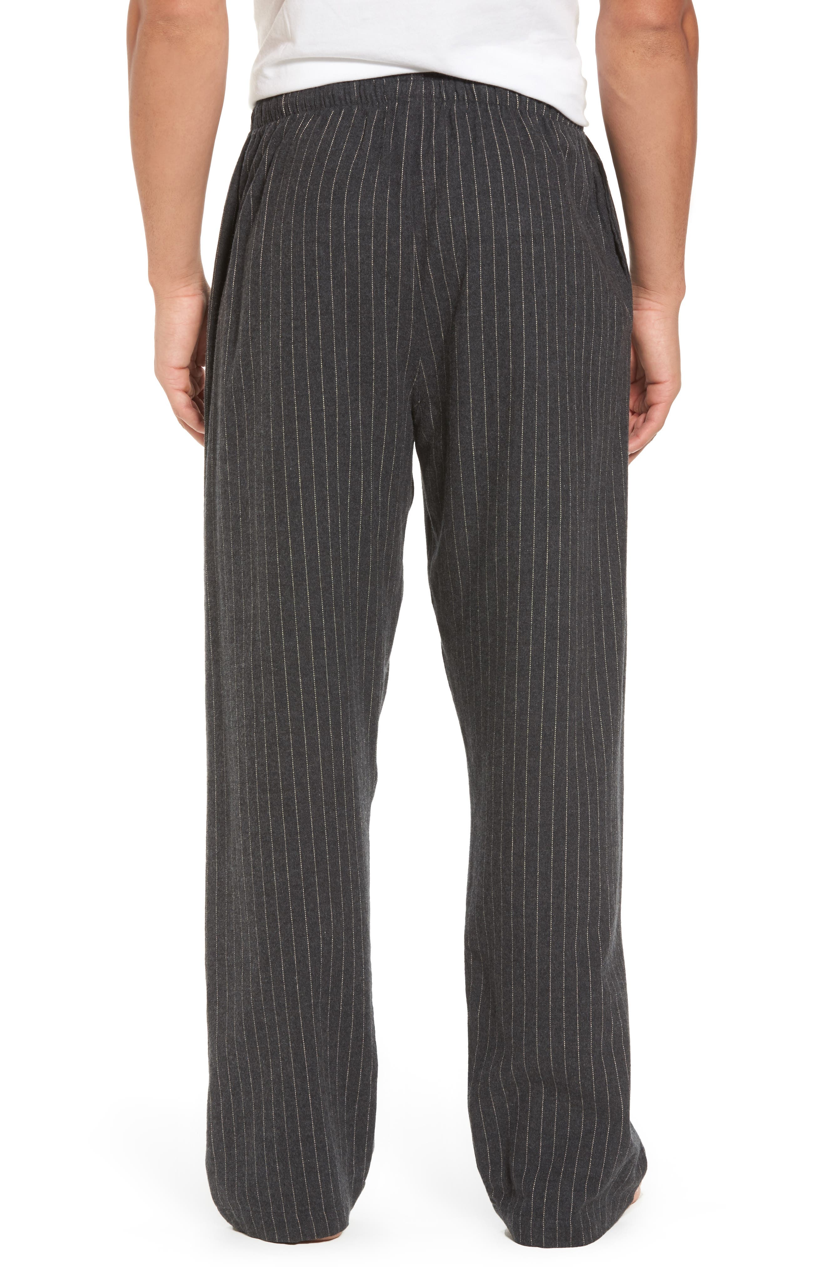 Flannel Pajama Pants,                             Alternate thumbnail 18, color,