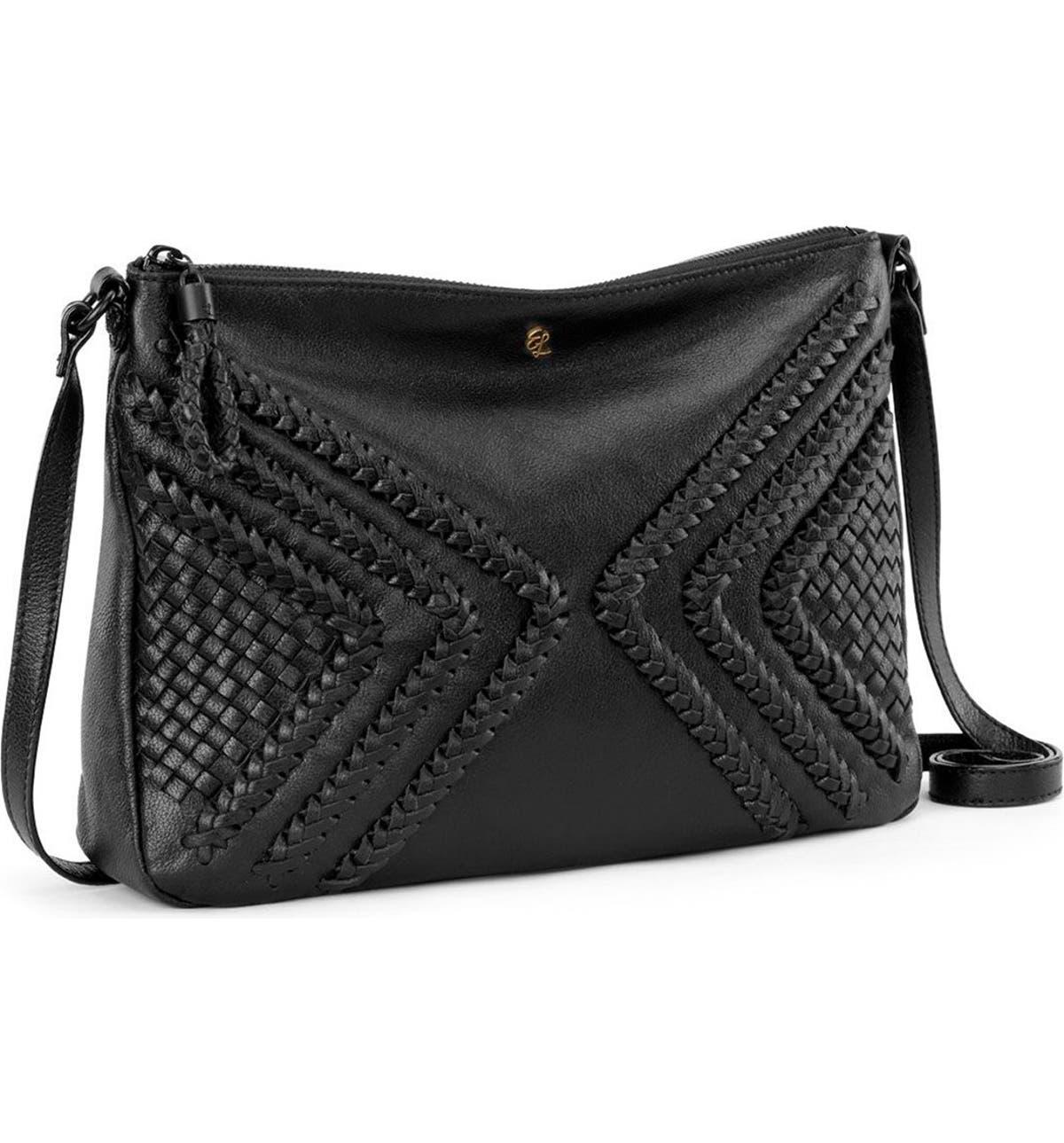 Elliott Lucca  Medium Mari  Braided Leather Crossbody Bag  4cba15790d723