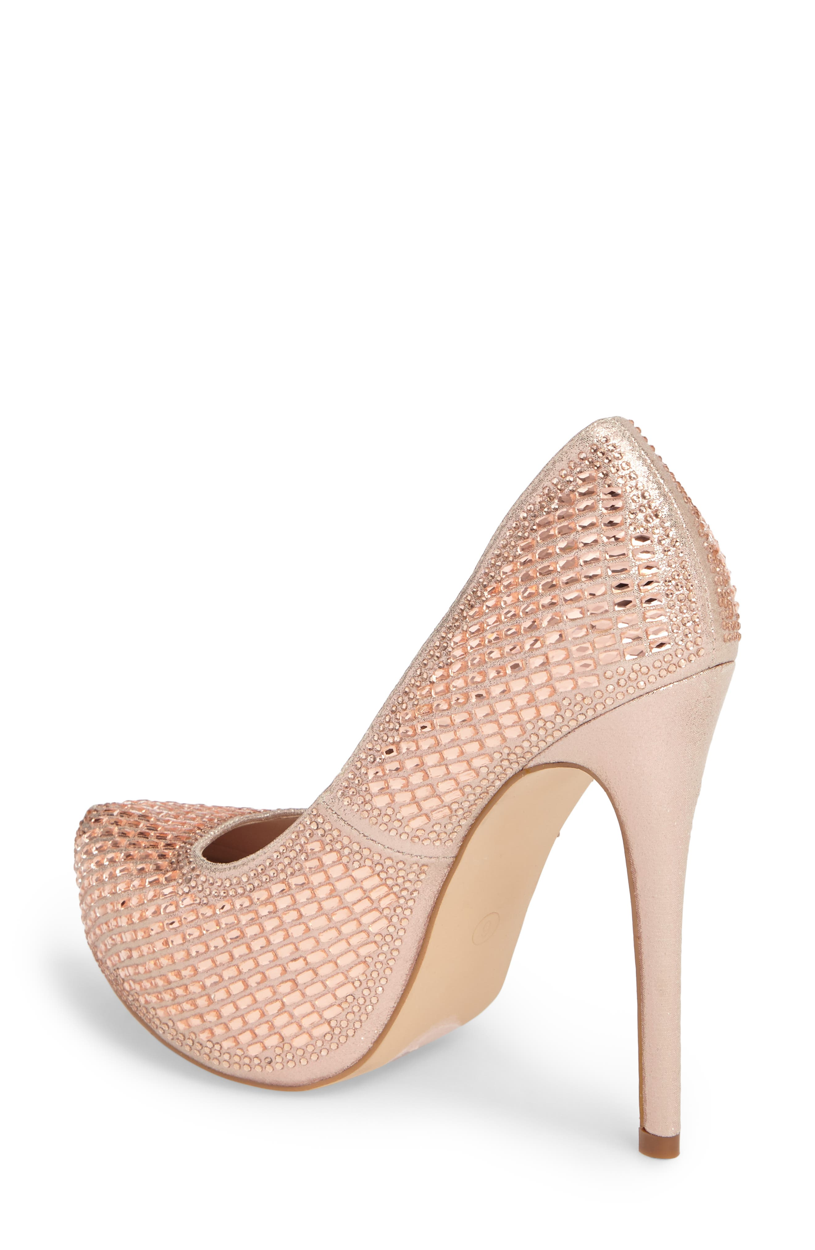 Vanna 5 Platform Pump,                             Alternate thumbnail 2, color,                             ROSE GOLD