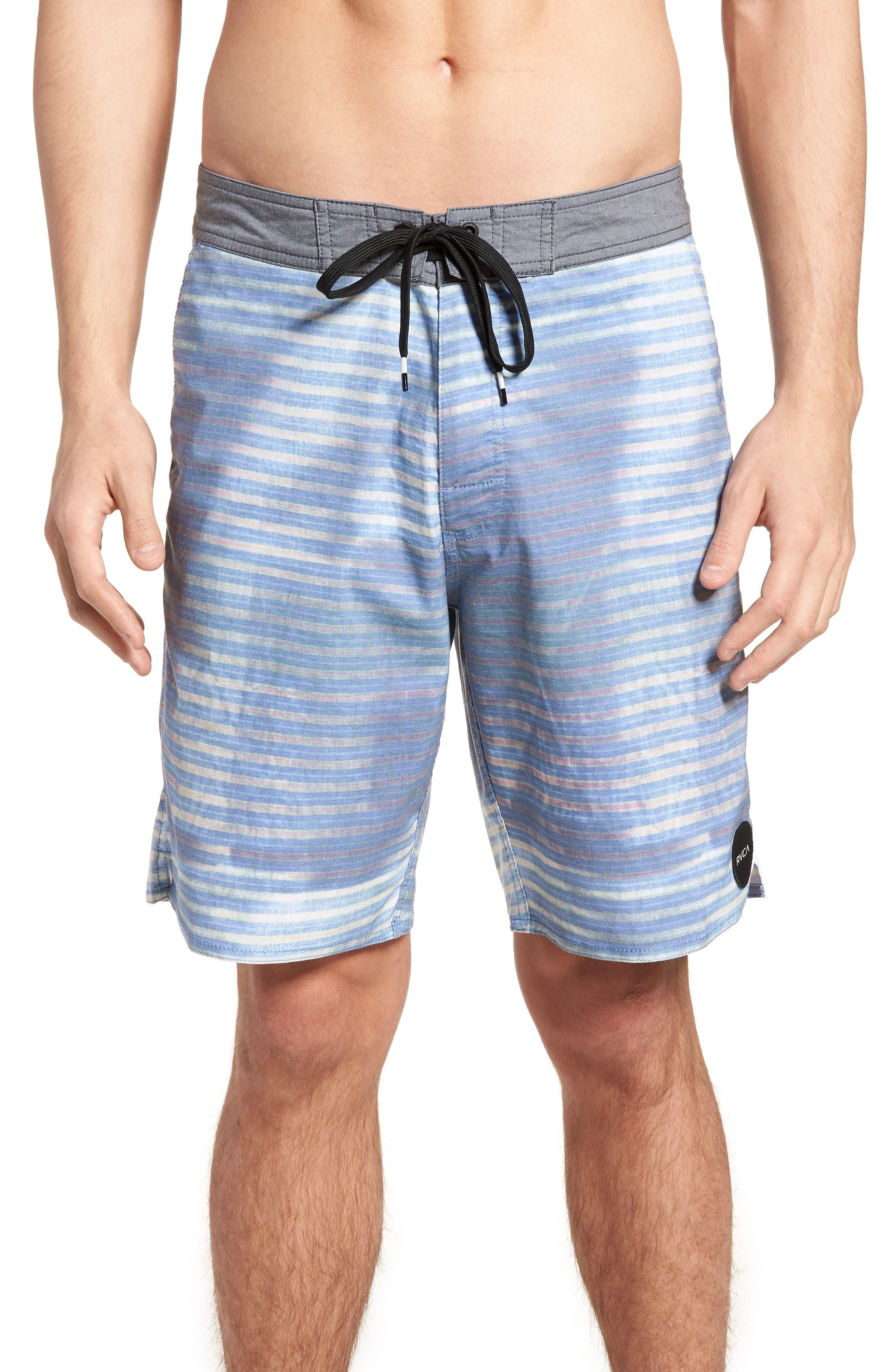Boppa Stripe Swim Trunks,                             Main thumbnail 1, color,                             402