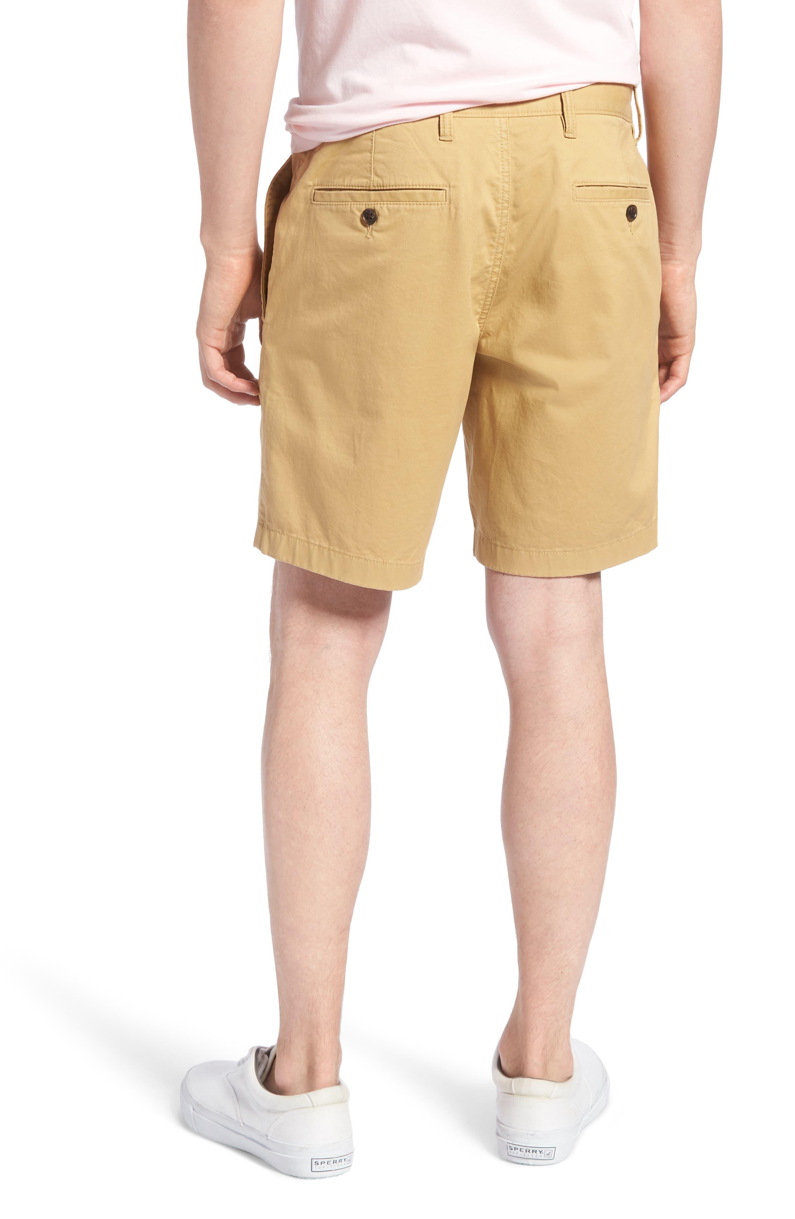 Ballard Slim Fit Stretch Chino 9-Inch Shorts,                             Alternate thumbnail 2, color,                             TAN LARK