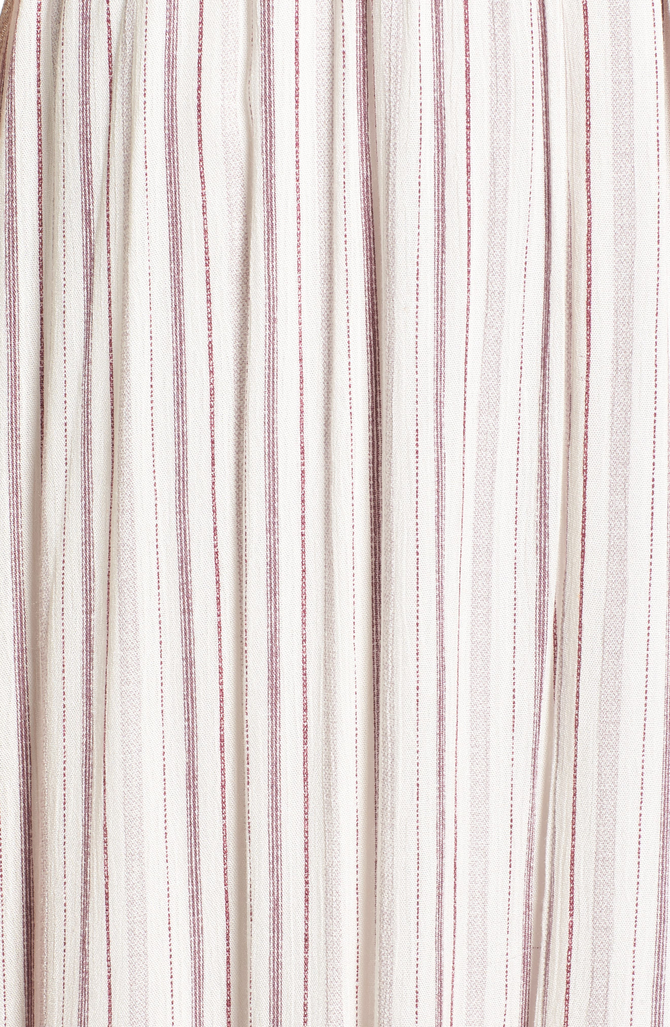 Daydreamer Stripe Maxi Dress,                             Alternate thumbnail 5, color,                             900