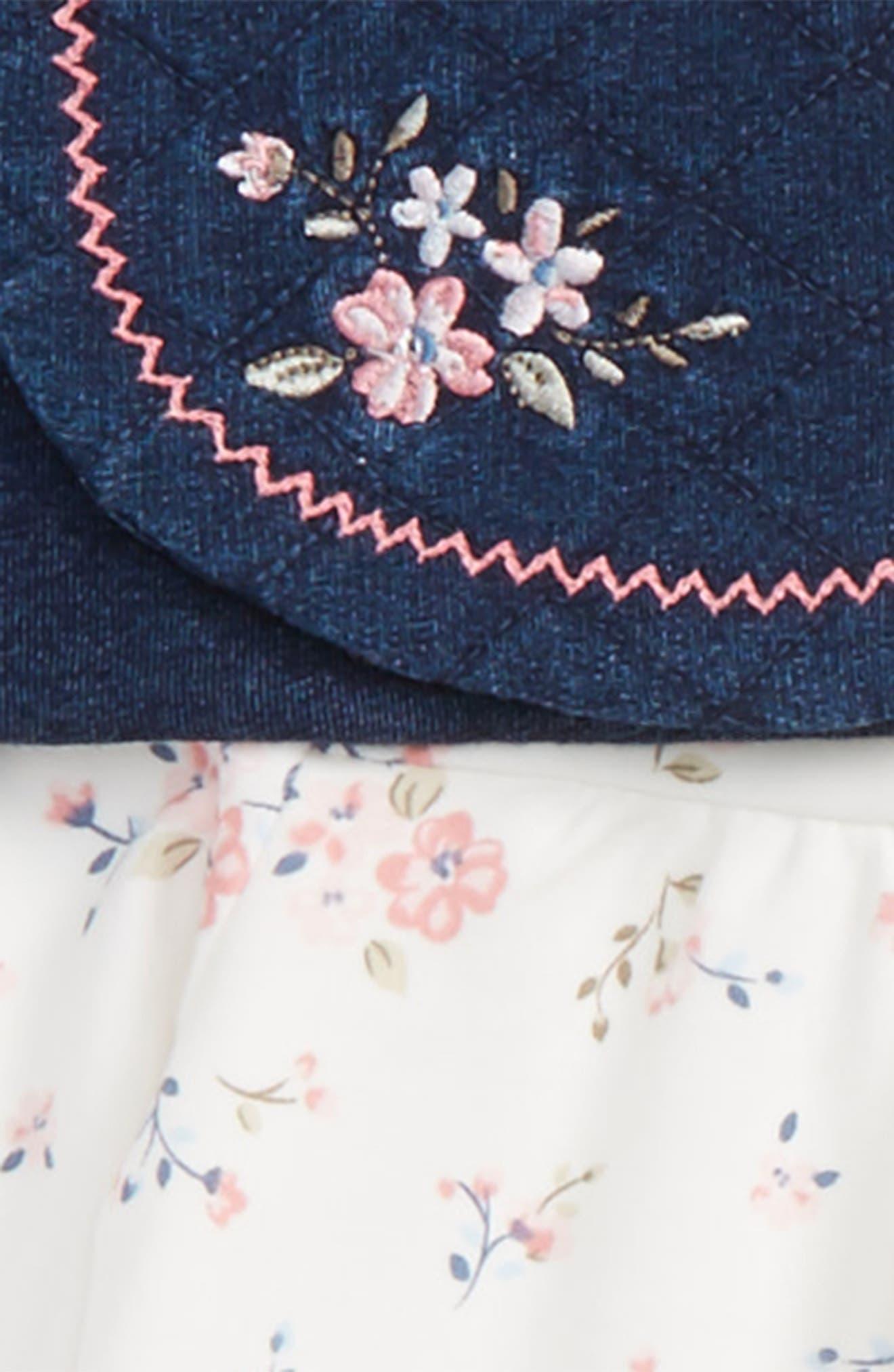Vest, Tee, Leggings & Headband Set,                             Alternate thumbnail 2, color,
