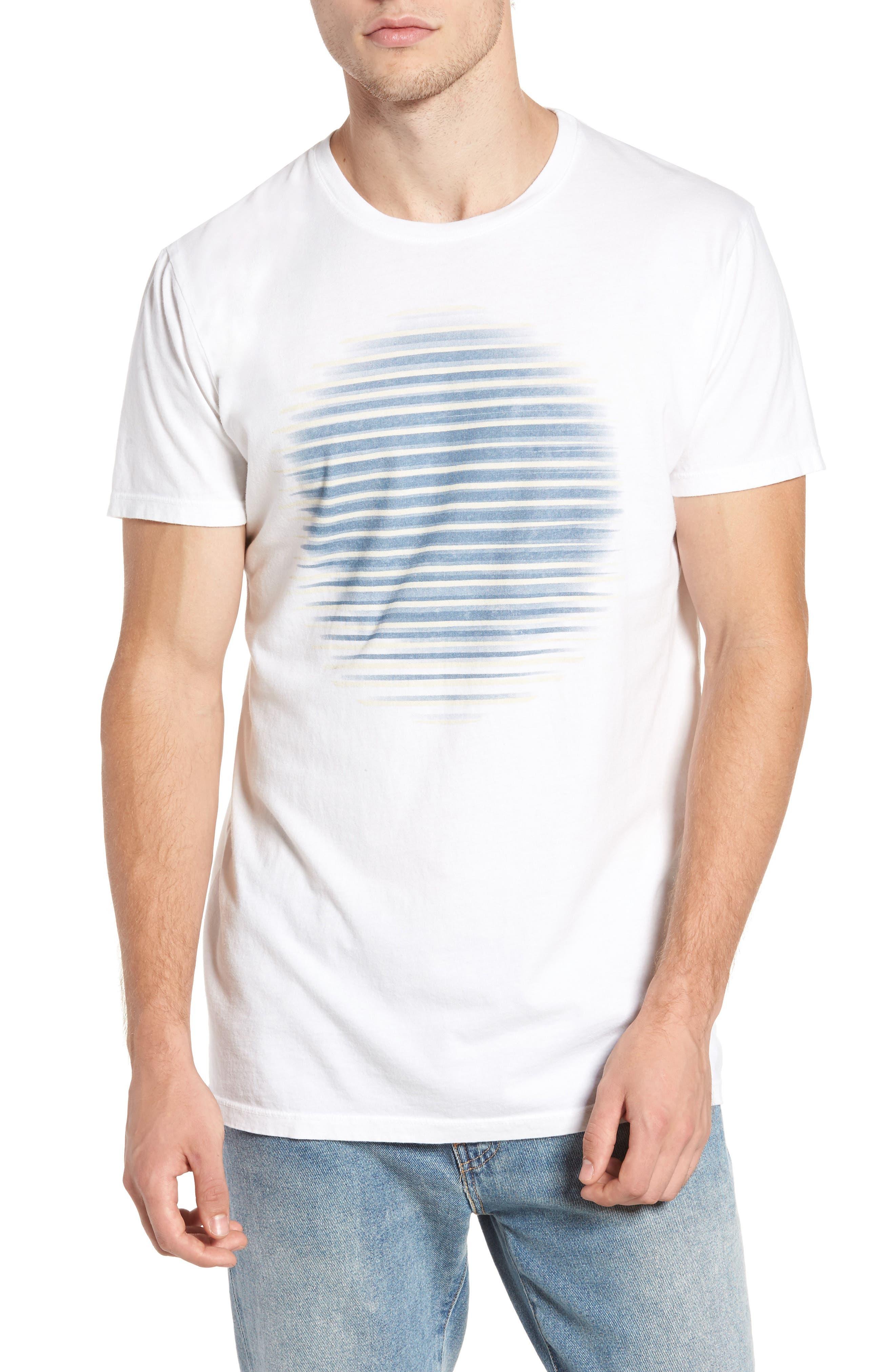 Lined Circle Graphic T-Shirt,                             Main thumbnail 1, color,                             100