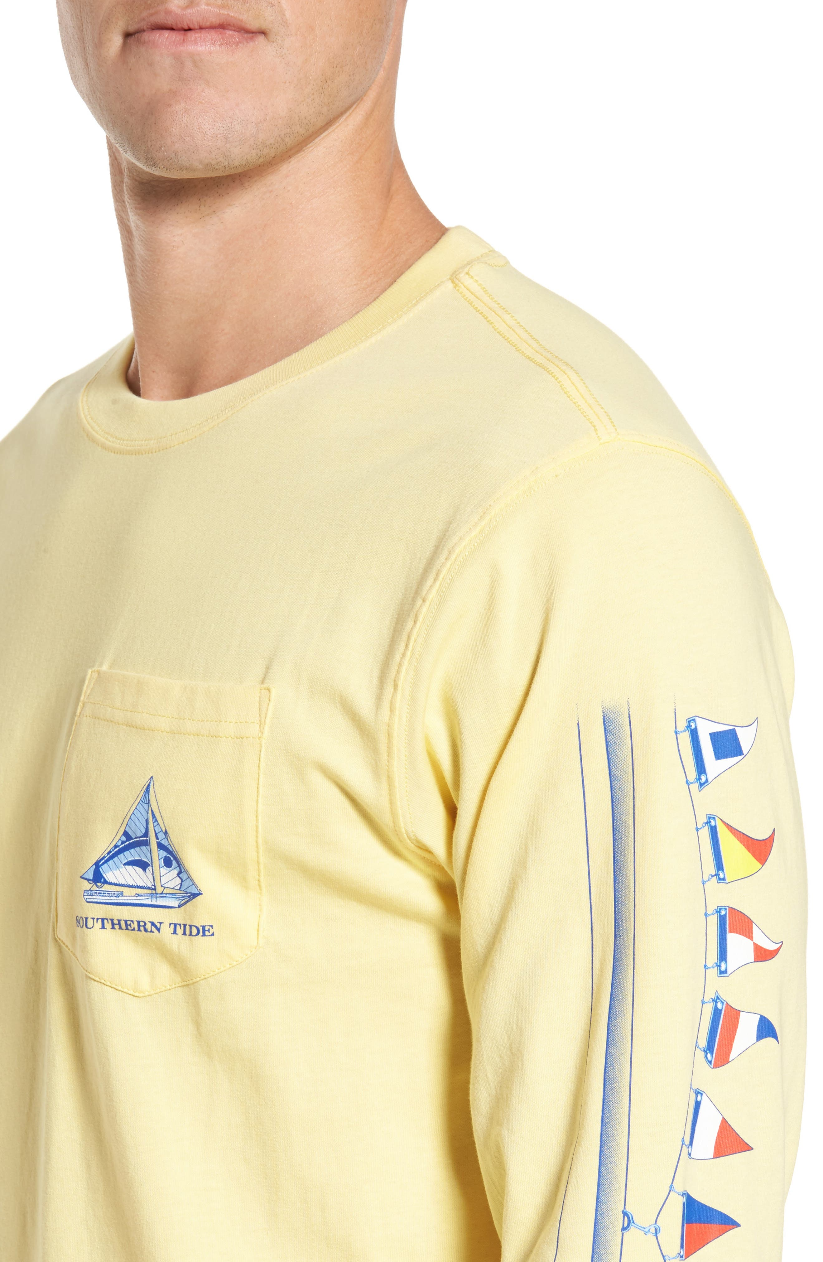 Sailboat Classic T-Shirt,                             Alternate thumbnail 4, color,                             706