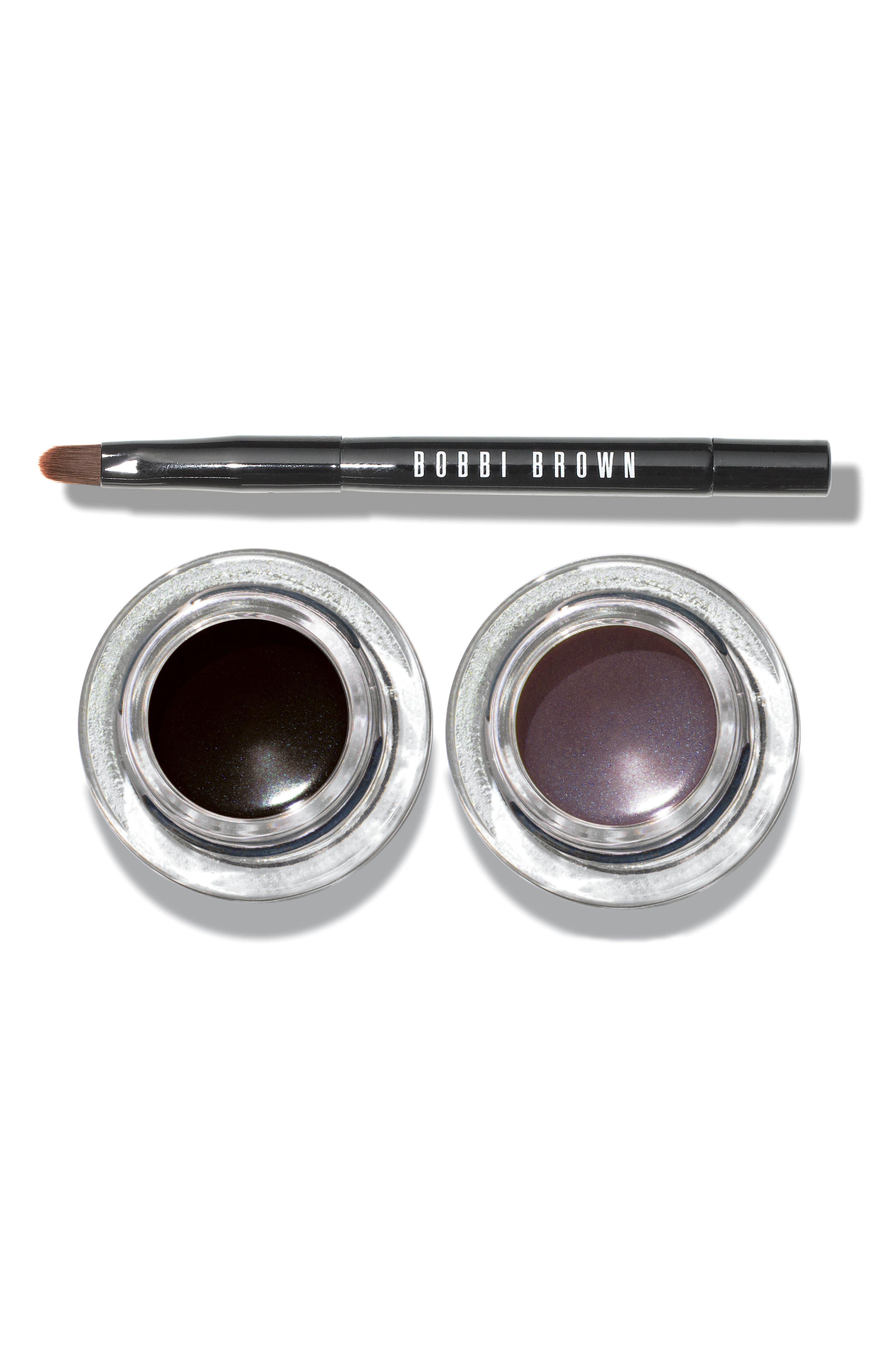 Cat-Eye Long-Wear Gel Eyeliner & Brush Set,                             Main thumbnail 1, color,                             000